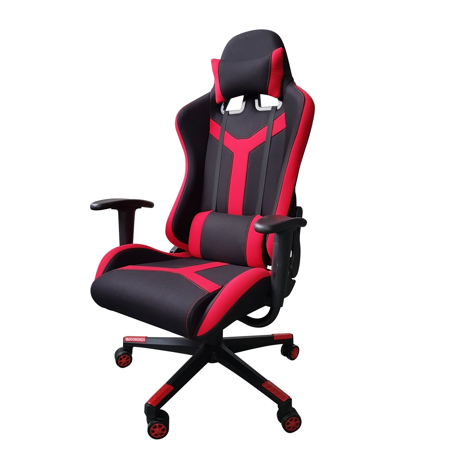 Video Gaming Chair Executive Swivel Racing Style High Back Office Lumbar Support Ergonomic With Headrest Red Free Shipping Today