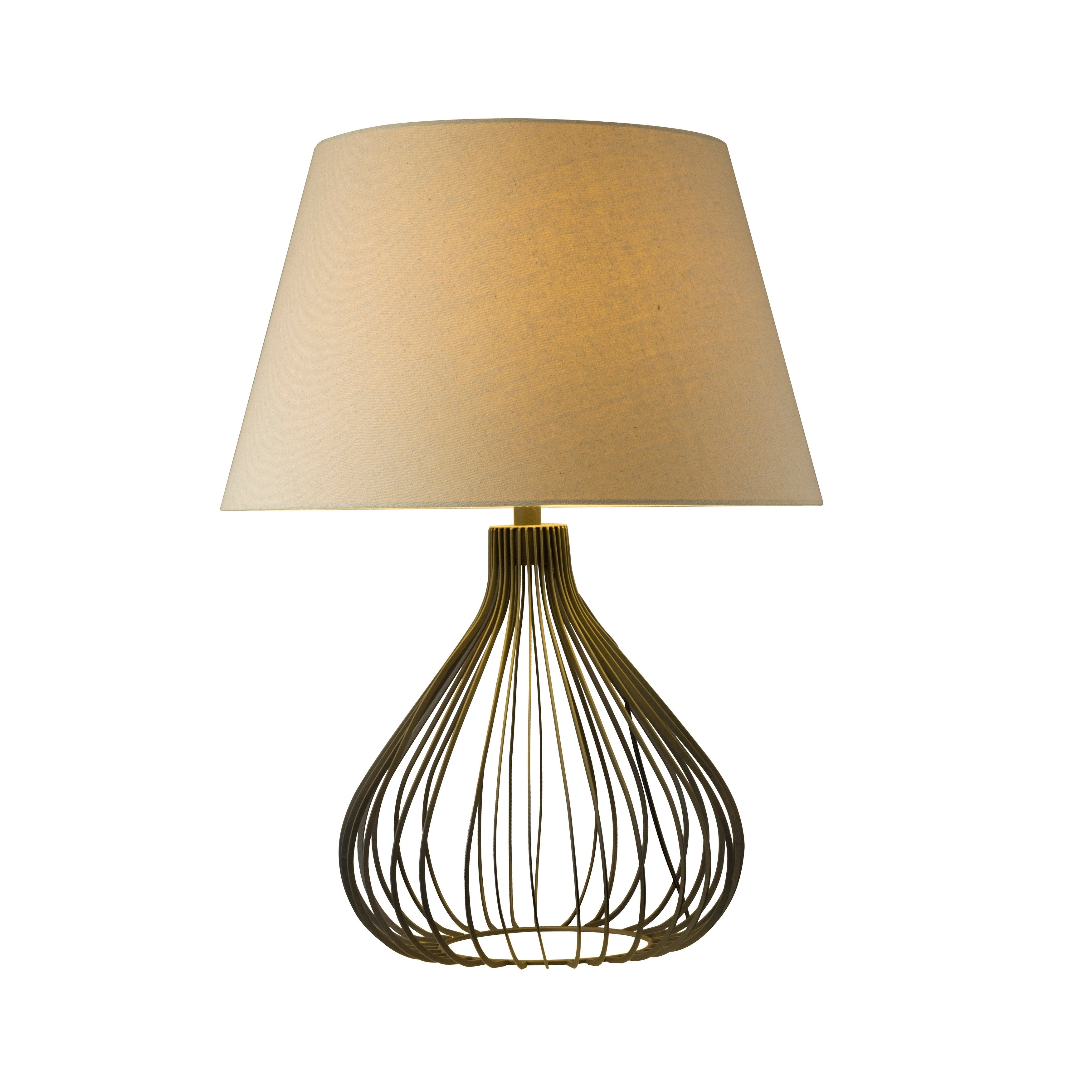 Shop aurelle home contemporary modern metal table lamp on sale free shipping today overstock com 20088074