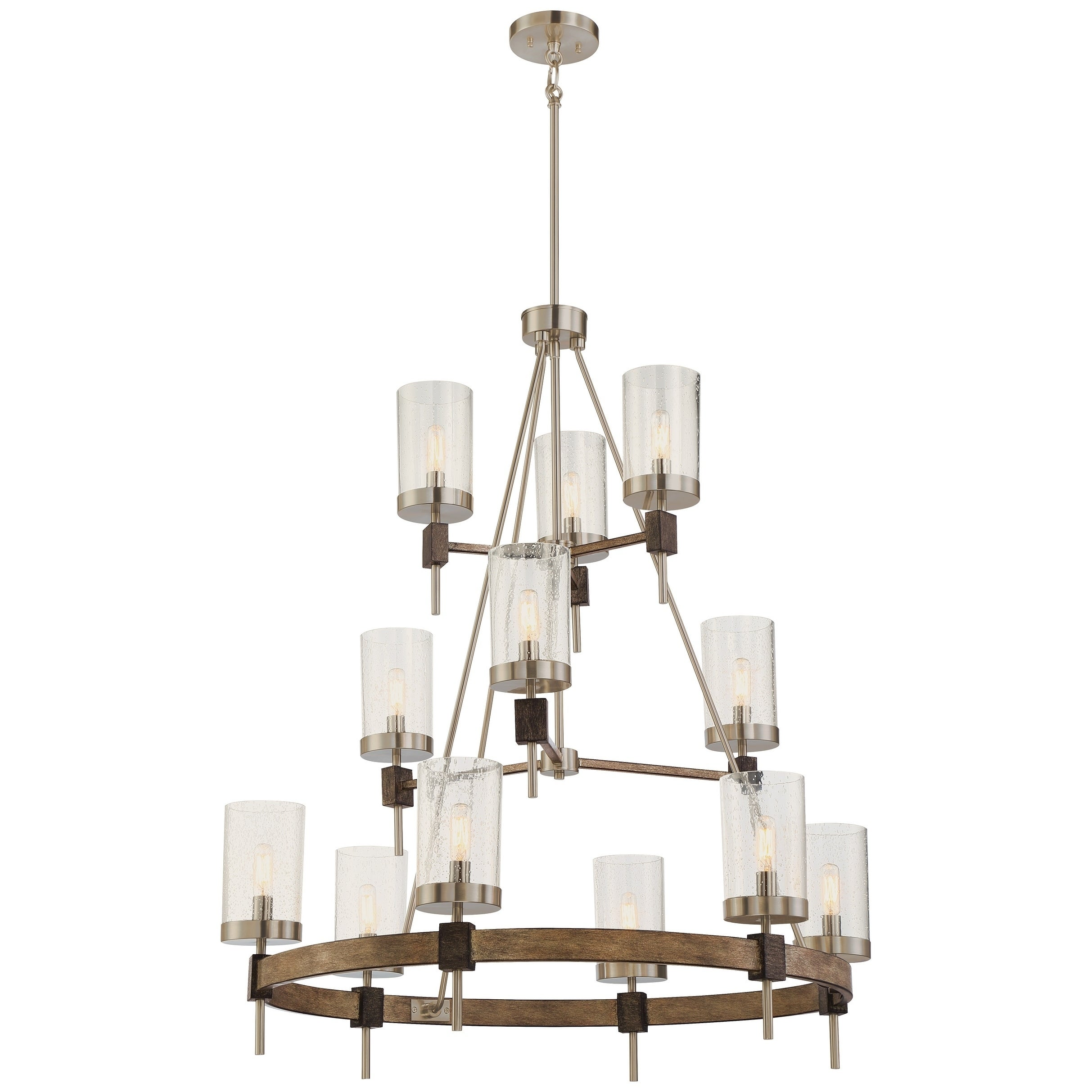ivory grey wash pin steel diam woodland finish products chandelier