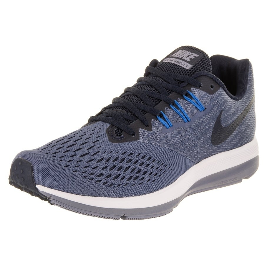 3197fd7af346e Shop Nike Men s Zoom Winflo 4 Running Shoe - Free Shipping Today -  Overstock - 20089857