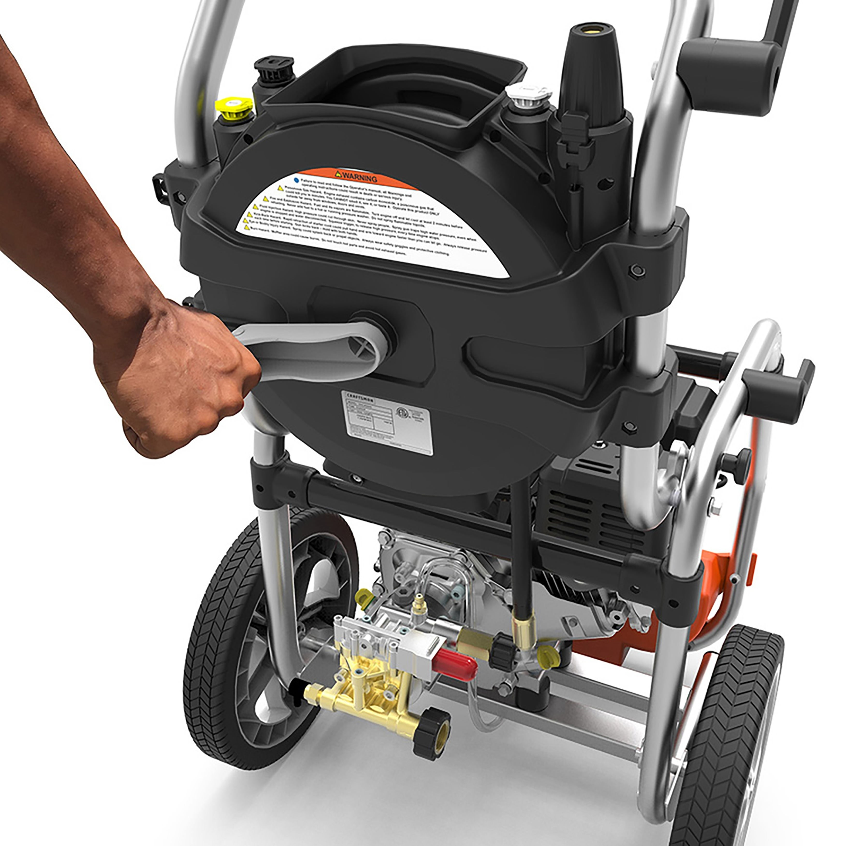 Shop Yard Force 3200 PSI 2.5 GPM Gas Power Pressure Washer with Hose Reel - On Sale - Free Shipping Today - Overstock.com - 20091312  sc 1 st  Overstock.com & Shop Yard Force 3200 PSI 2.5 GPM Gas Power Pressure Washer with Hose ...