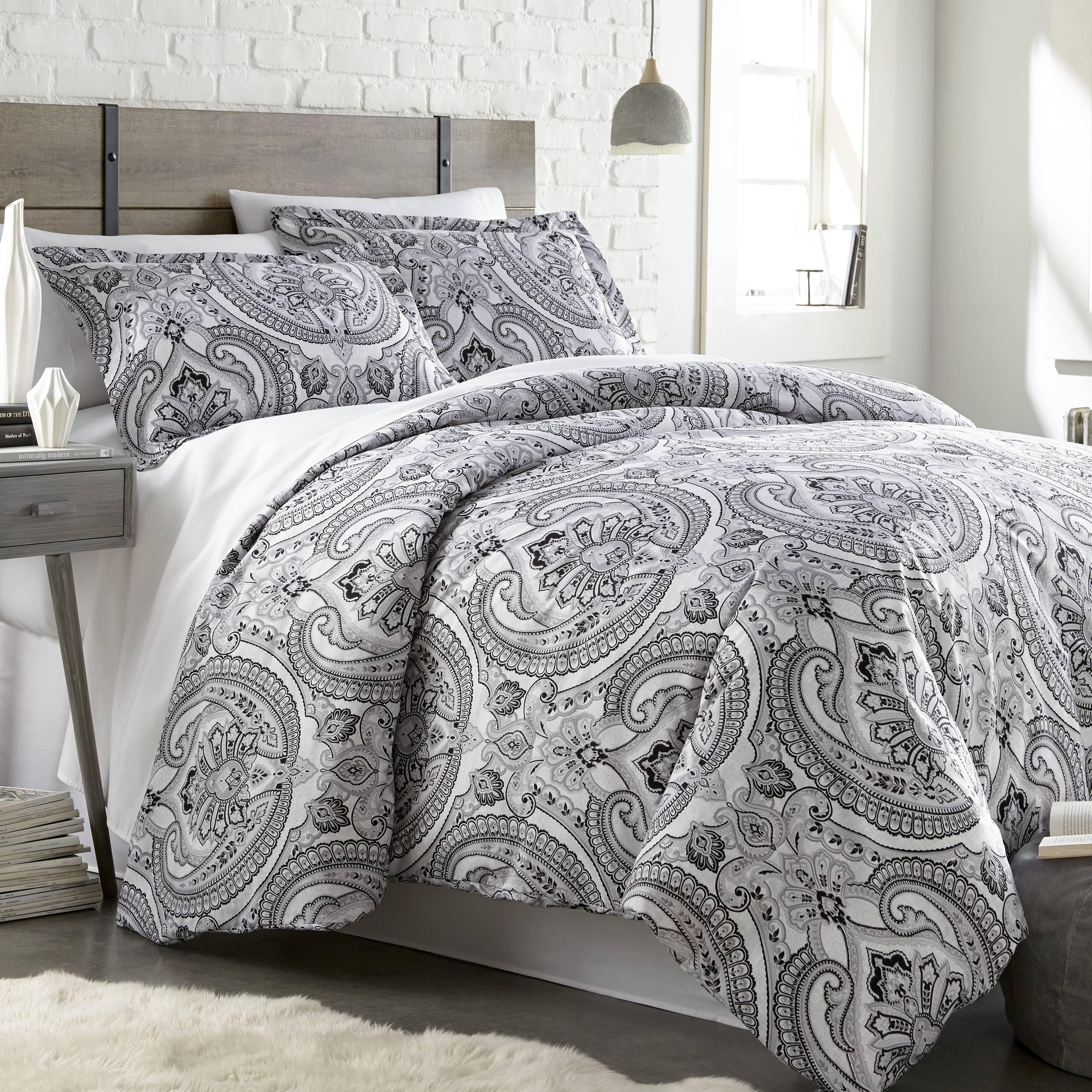 sheets bed sets linen winterdale pc set bedroom comforter furniture white bedding linens king