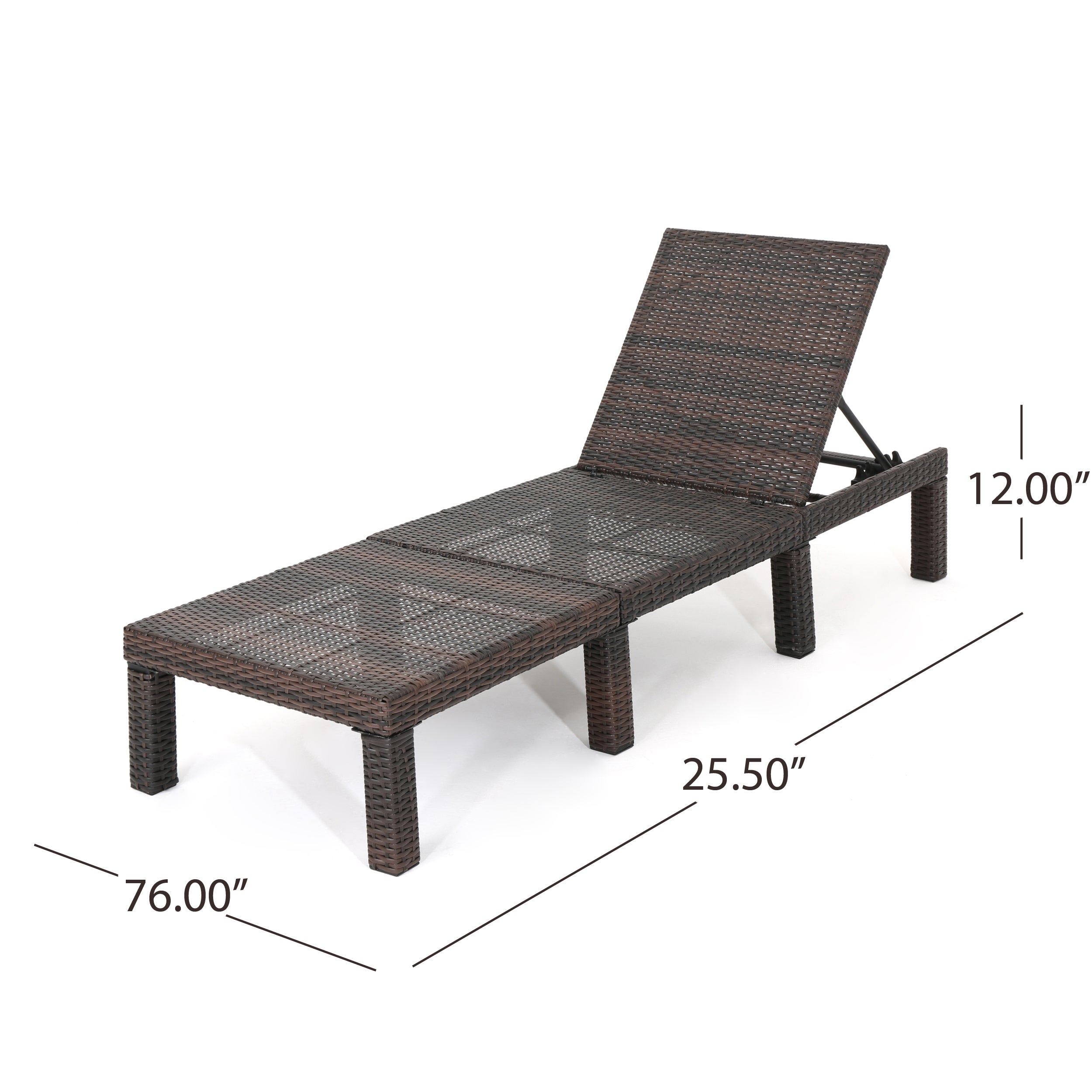 Jamaica Outdoor Wicker Chaise Lounge (Set of 4) by Christopher ...
