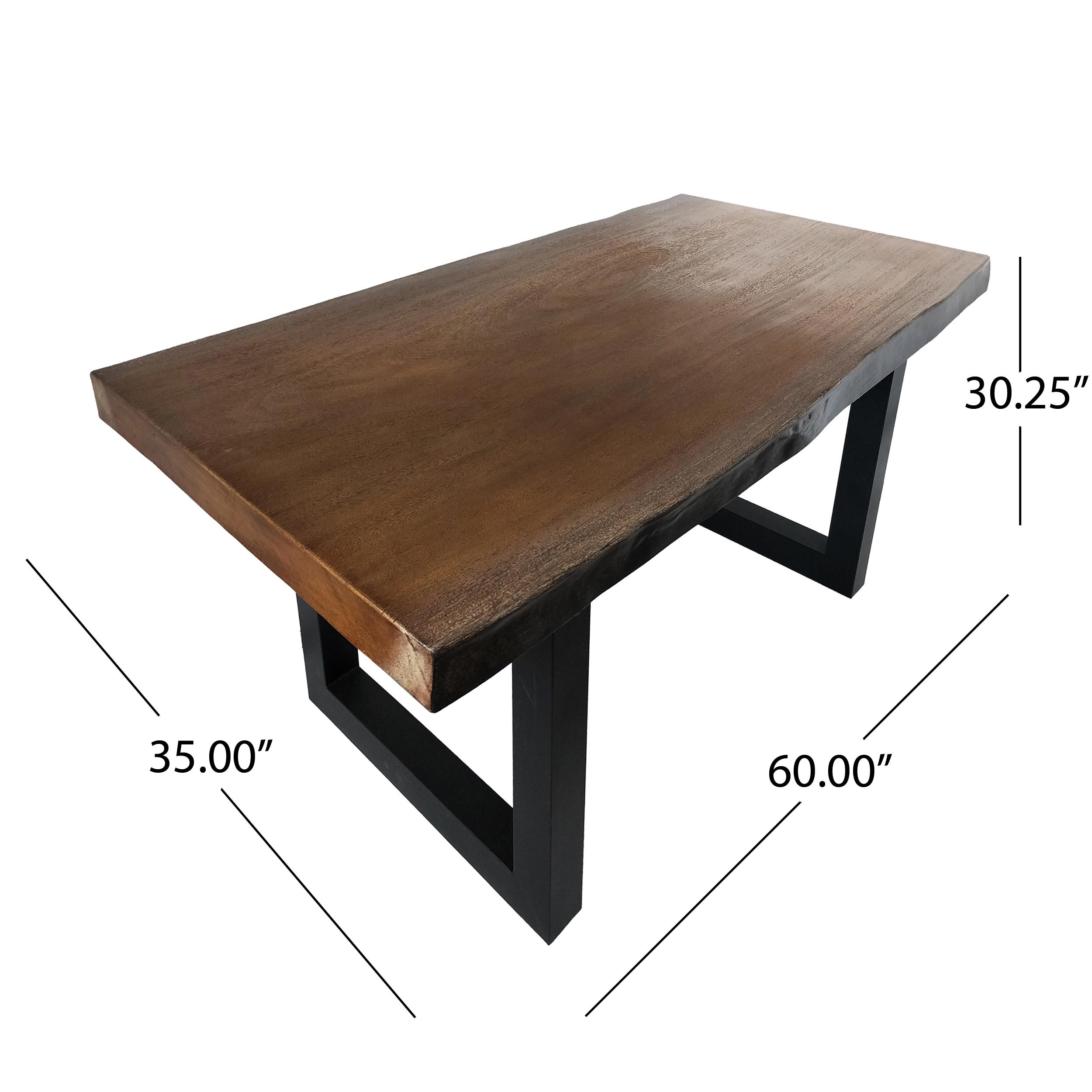 design dinning edge osborne legs videos table live dining wood features