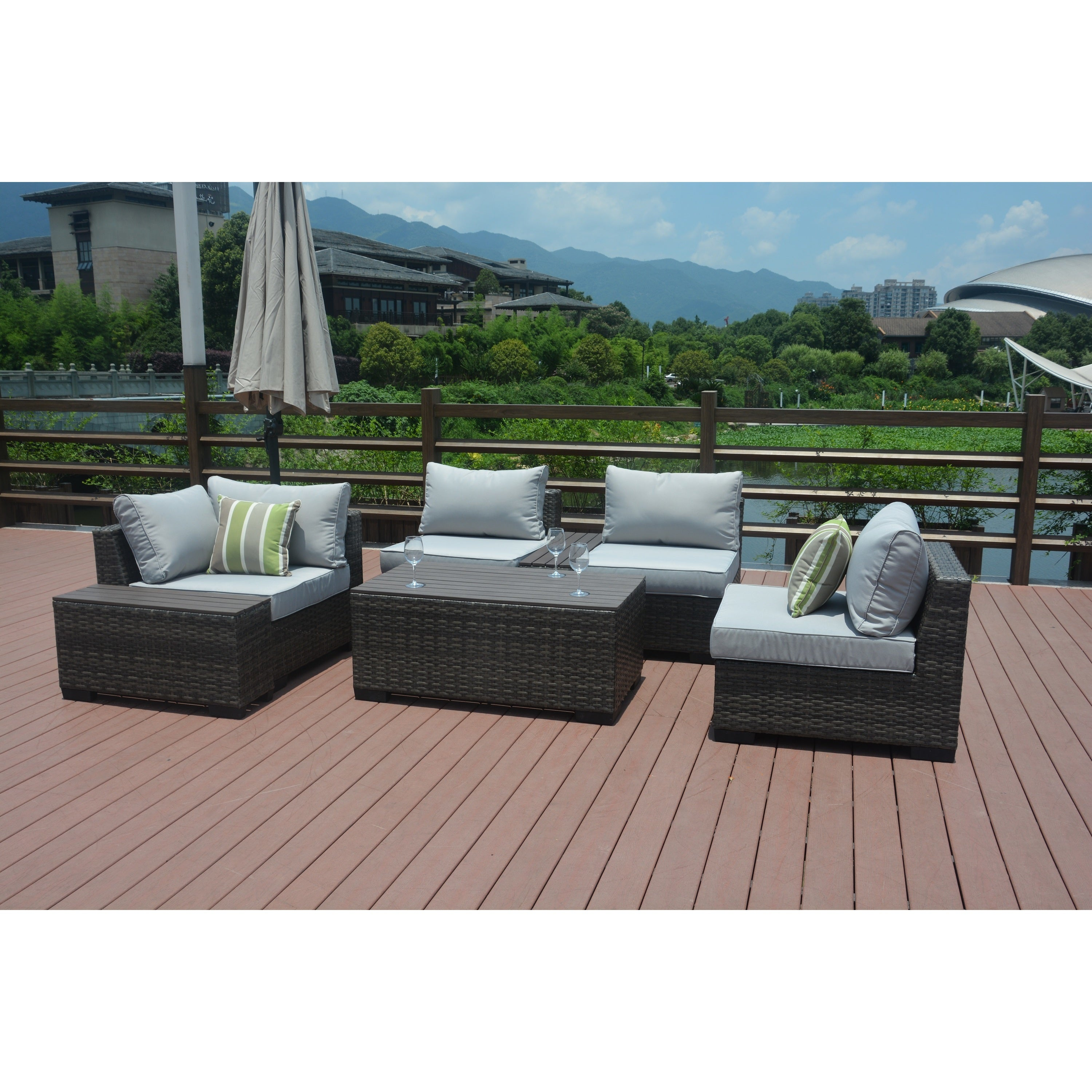 stand outdoor furniture base plastic patio product ipree umbrella beach garden parasol df