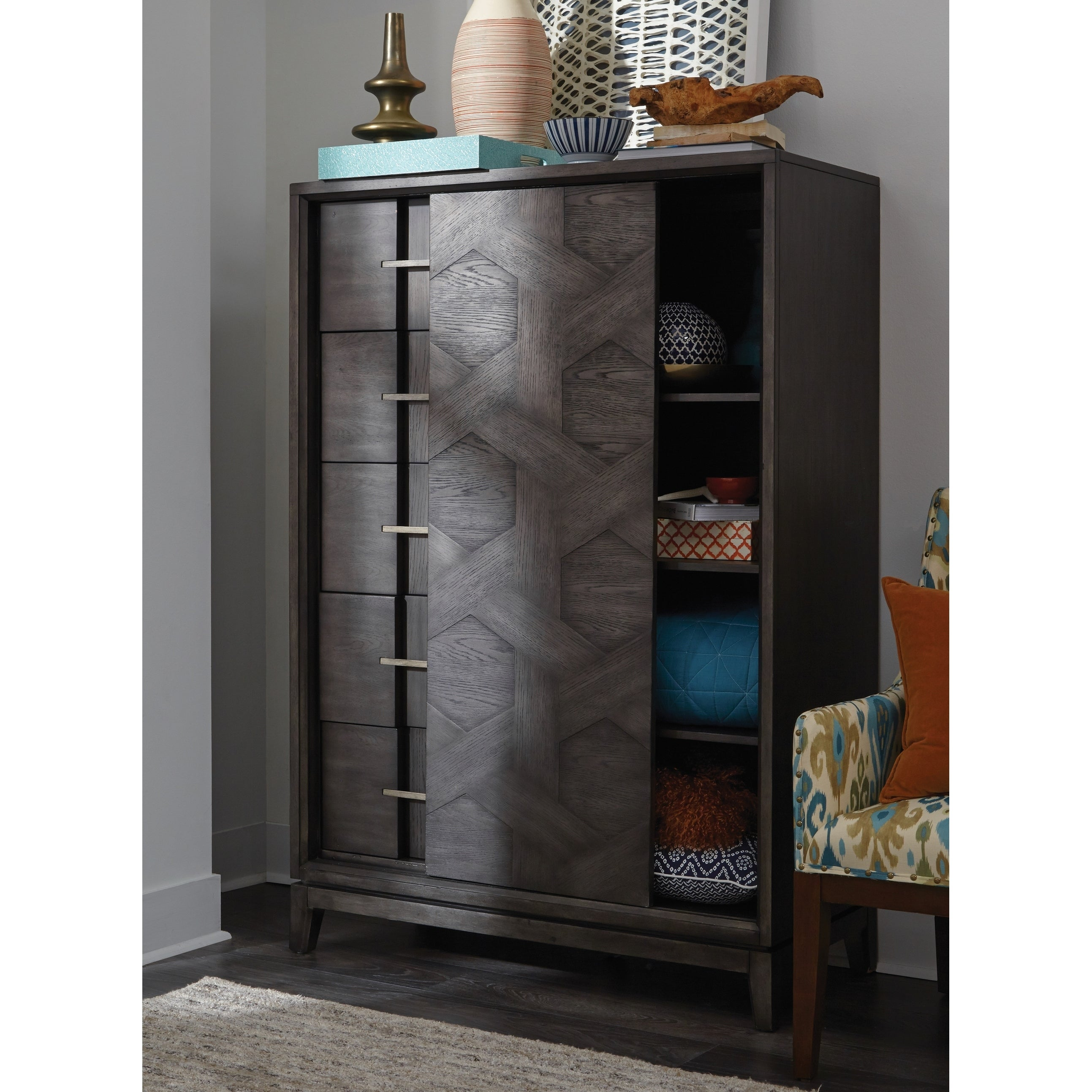 Shop Proximity Heights Contemporary Sliding Door Chest Free