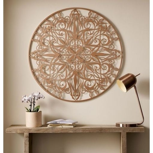 Graham brown copper luxe metal wall art free shipping today