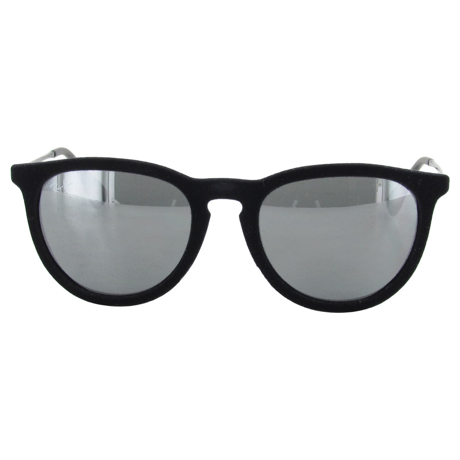 aad84fe1b7e Shop Ray-Ban Erika Oversized RB4171 Mens Black Frame Grey Lens Sunglasses - Free  Shipping Today - Overstock - 20121156