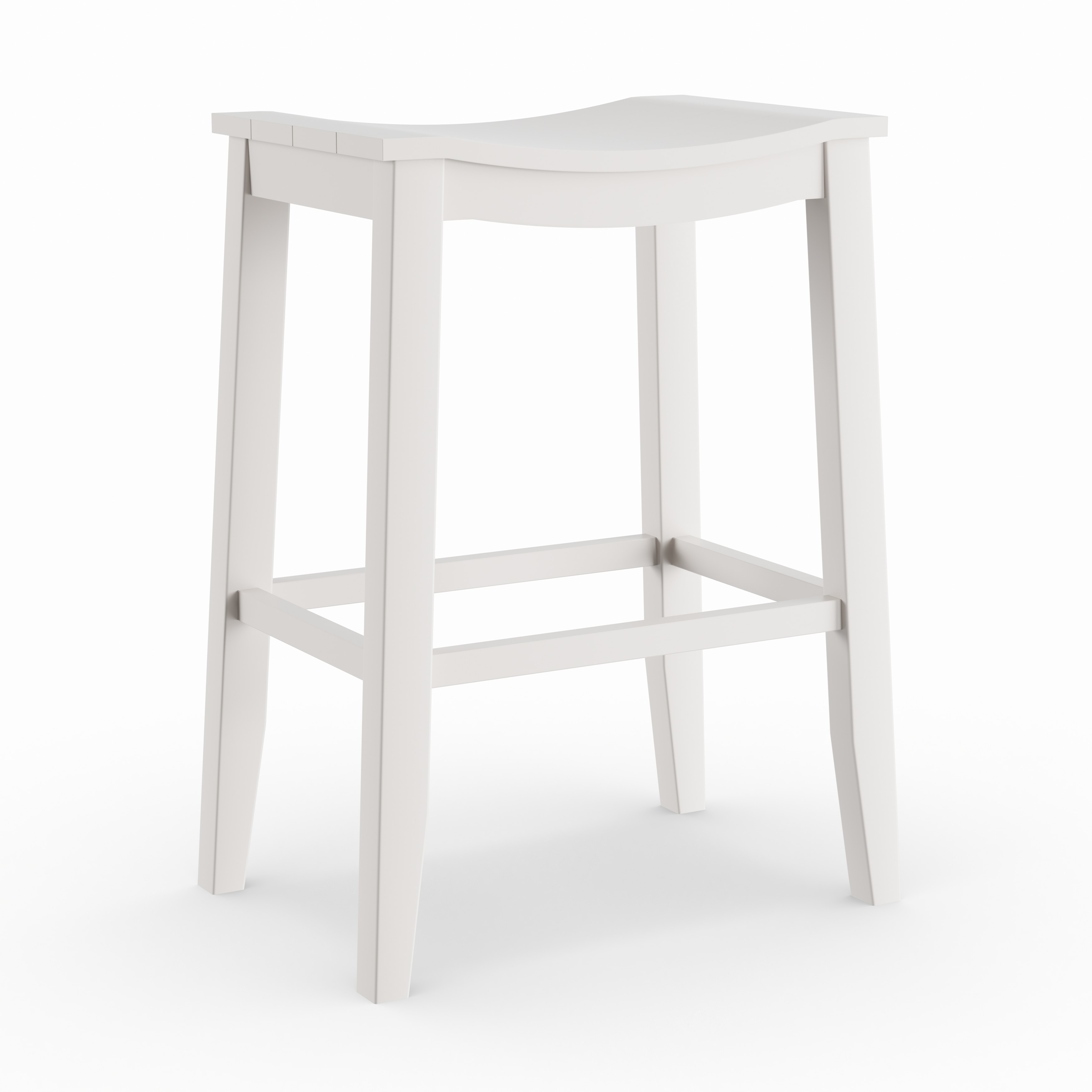 Shop the gray barn mule patch white finish saddle counter stool on sale free shipping today overstock com 20133283