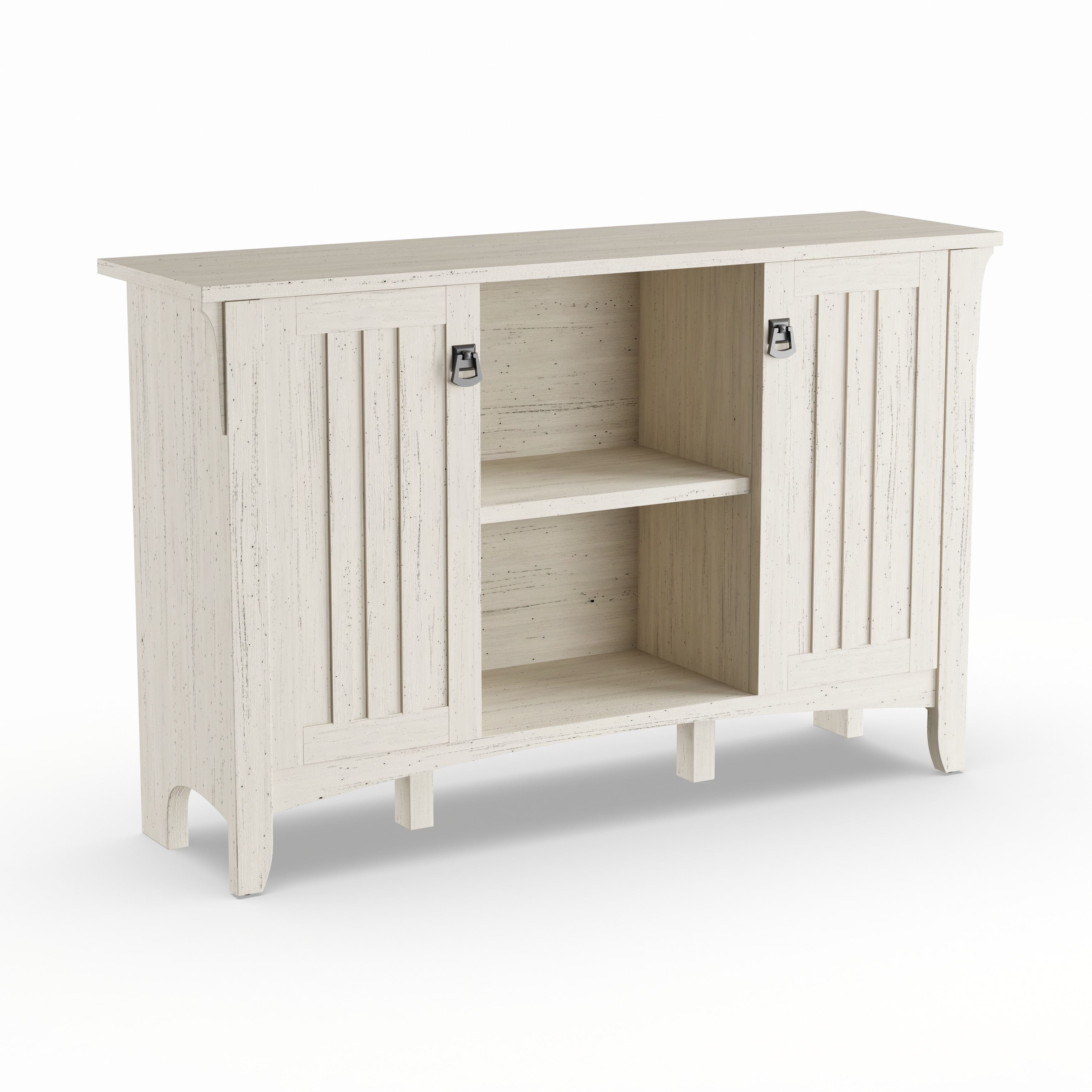 Shop Maison Rouge Lucius Antique White Storage Cabinet With Doors Free Shipping Today Overstock Com 20133405