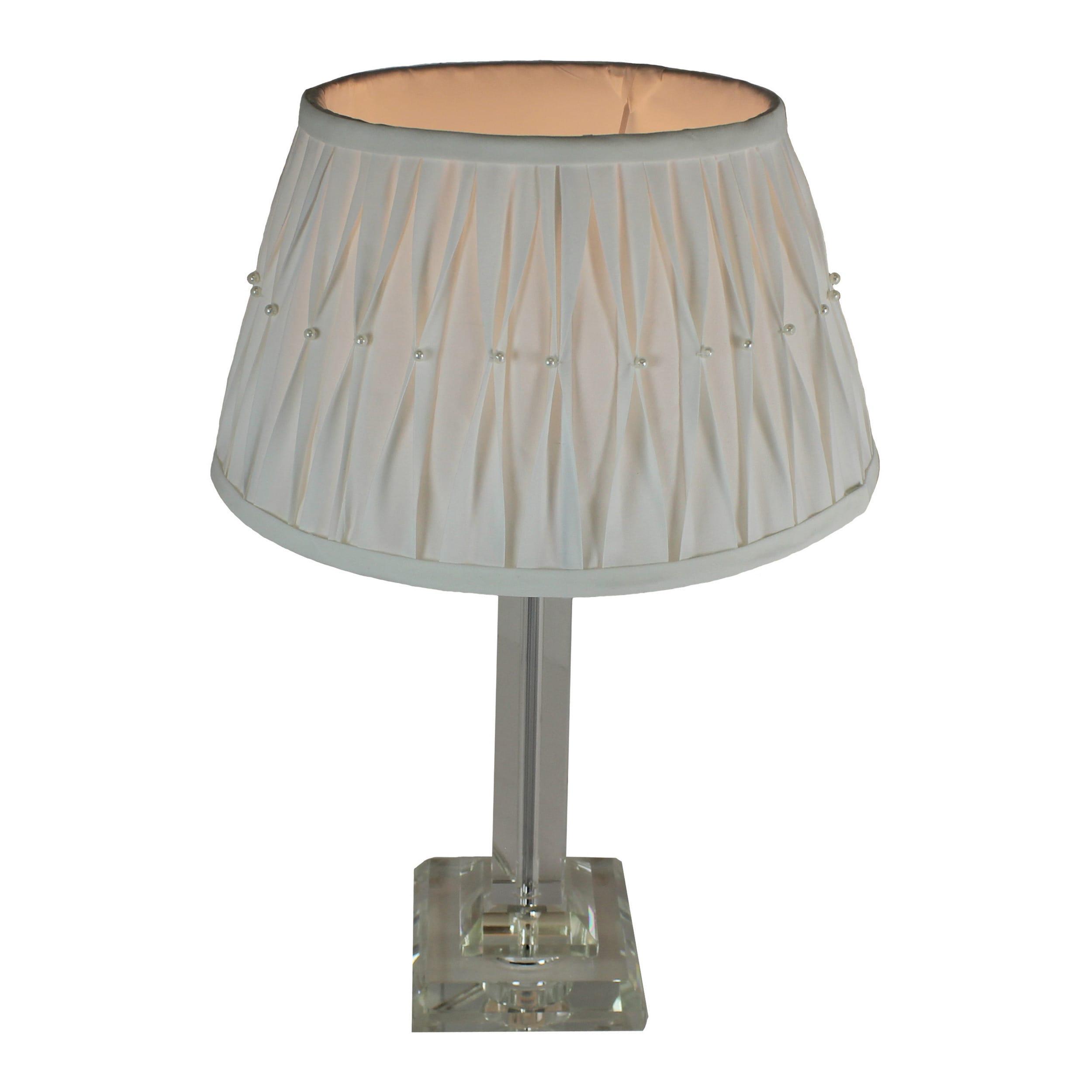 Urban designs 18 inch modern crystal column table lamp free urban designs 18 inch modern crystal column table lamp free shipping today overstock 26059896 aloadofball Choice Image