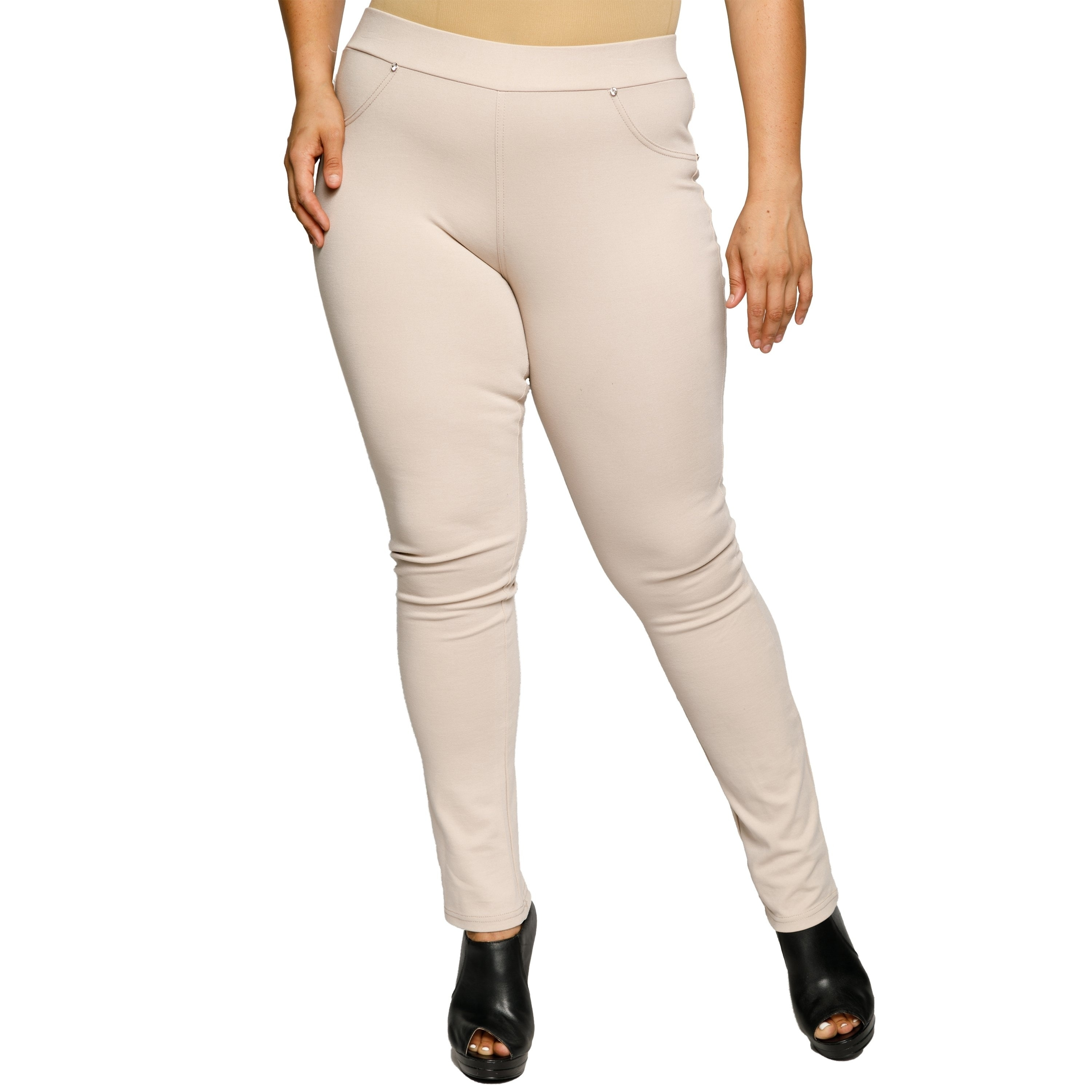 Skinny Leg Dress Pants Plus Size - raveitsafe
