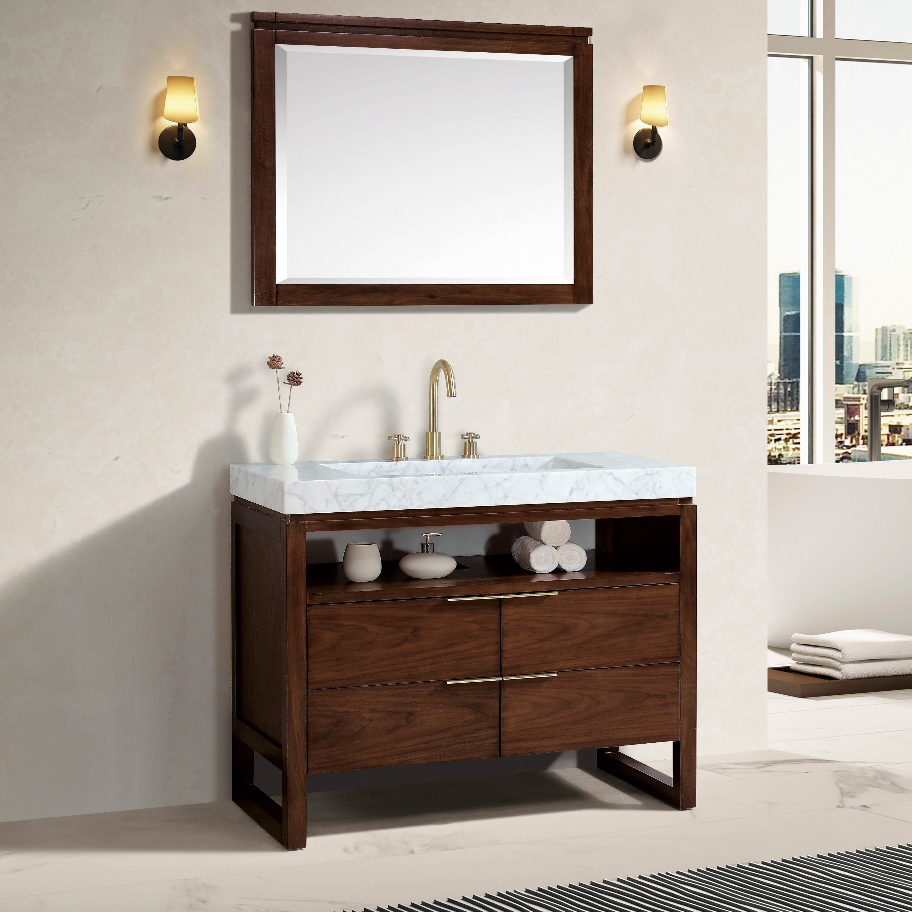 Shop Avanity Messina 8 in. Widespread Bath Faucet - Free Shipping ...