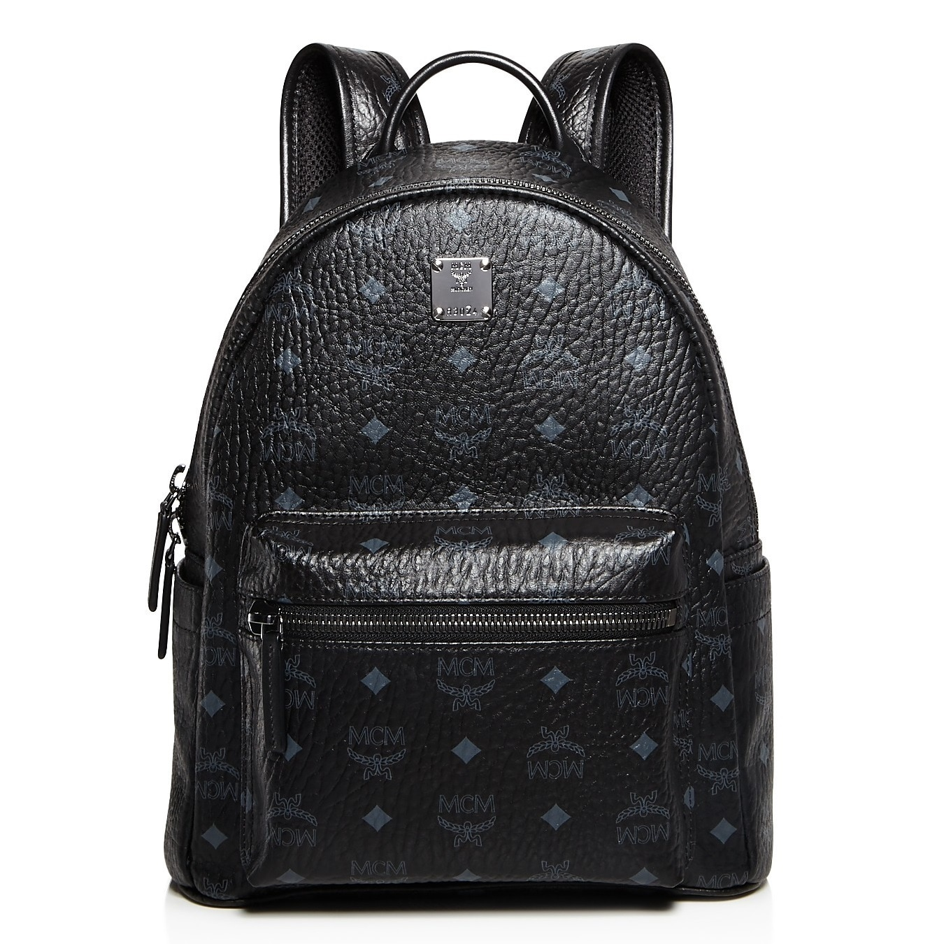 79c00187d5d Shop MCM Stark Medium Black Backpack - On Sale - Free Shipping Today -  Overstock - 20175456