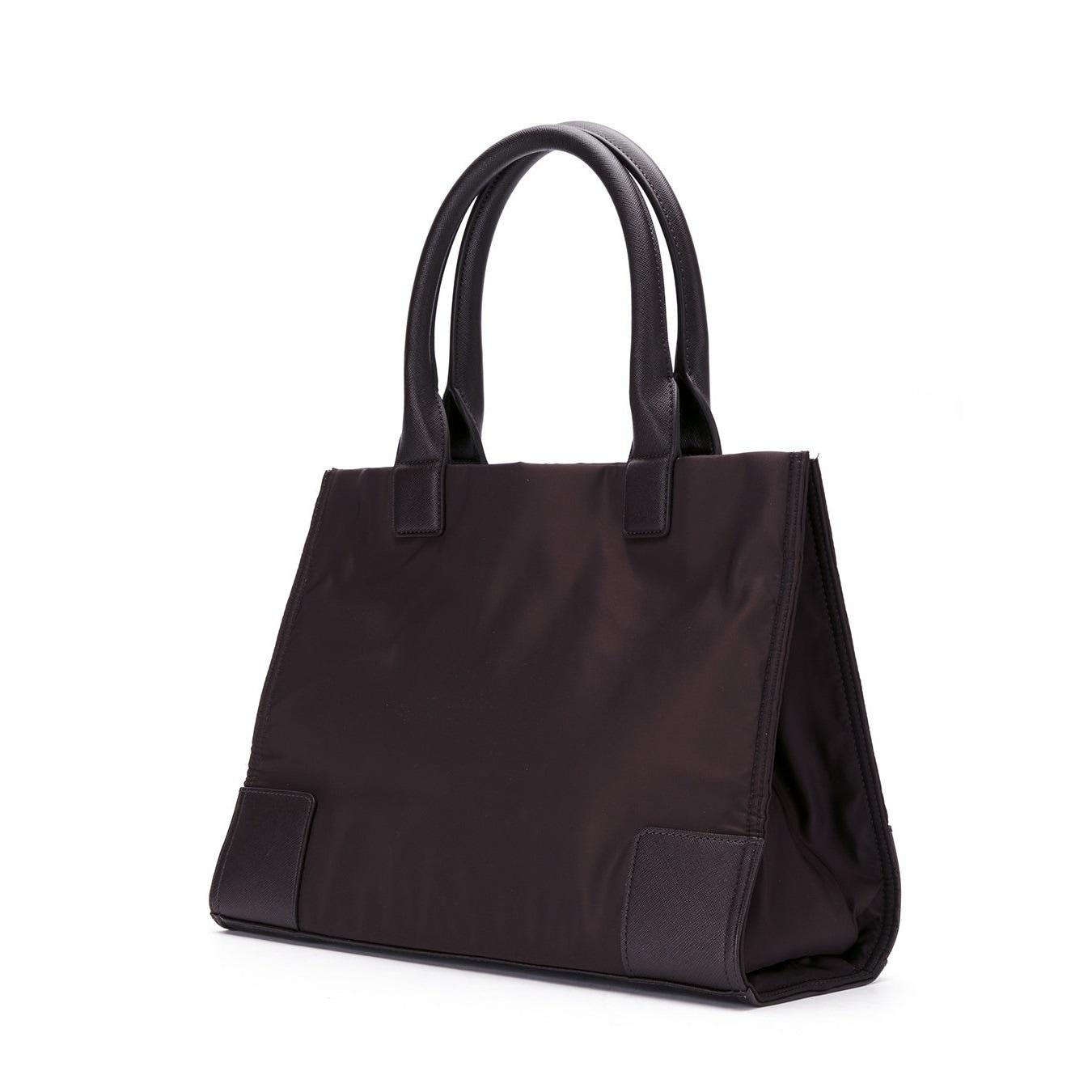 7f2b2494a0c Shop Tory Burch Stud Mini Ella Stud Logo Tote Bag - Free Shipping ...