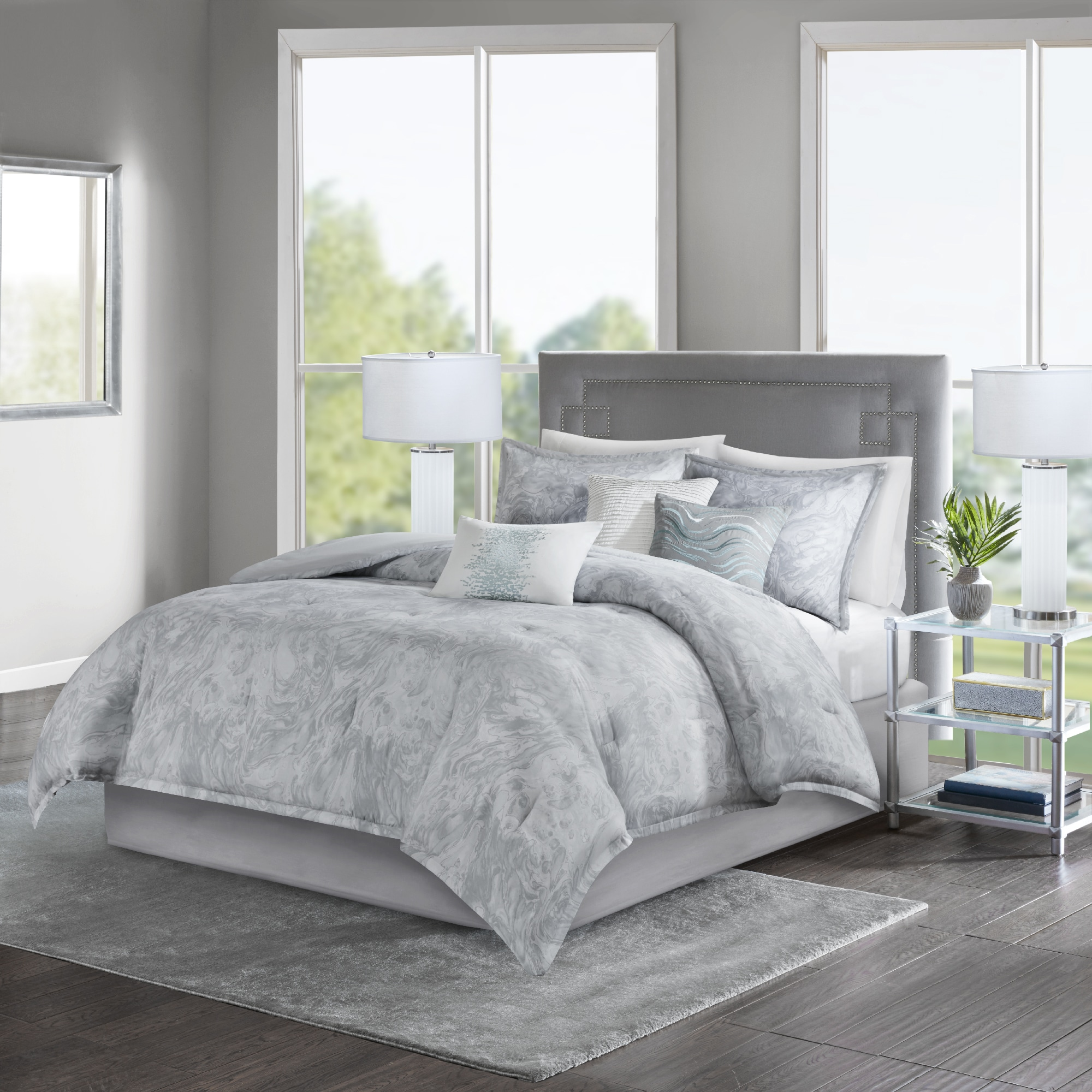 tracy comforter collection bedding sateen pin collections astrid house porter bed