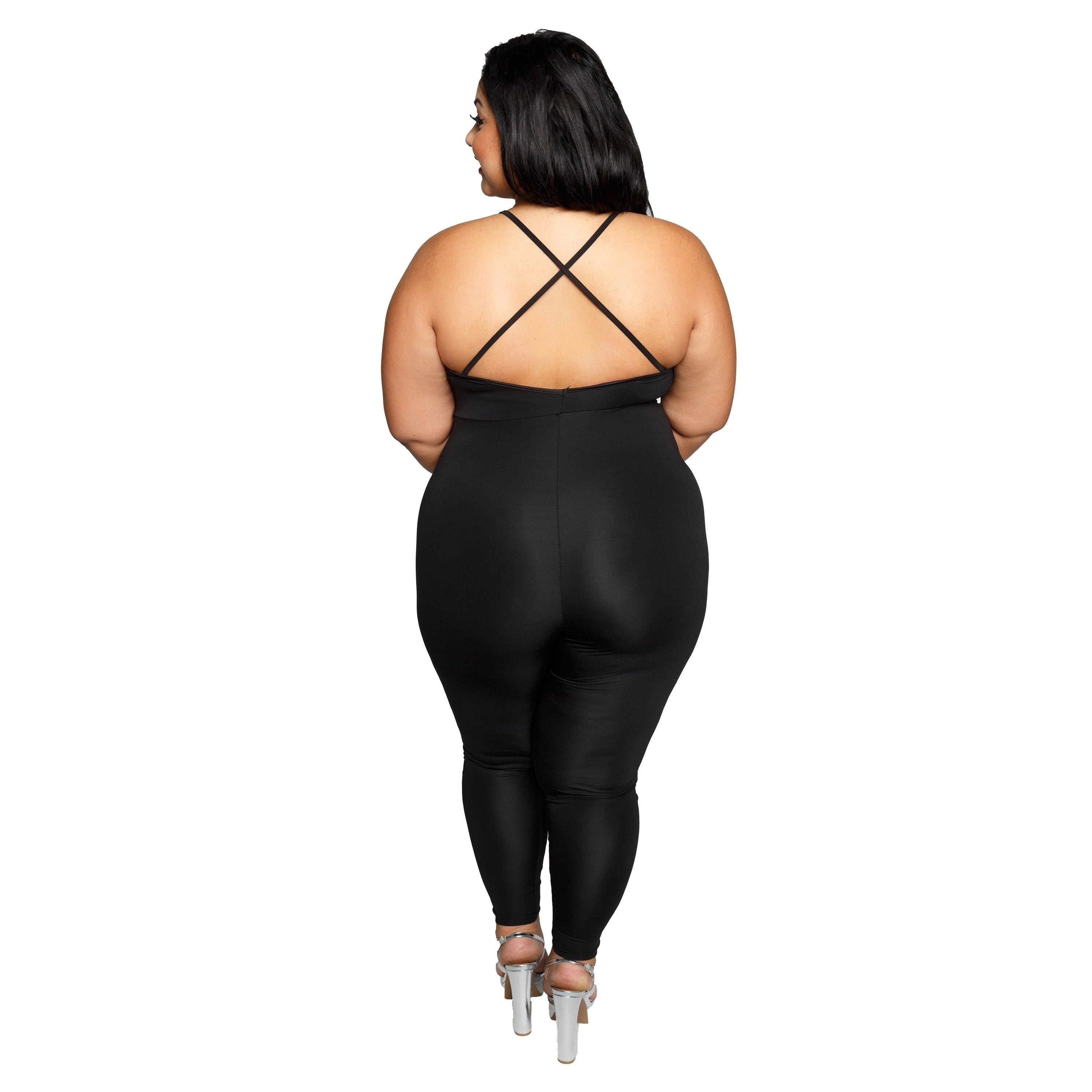 eab6b496479 Shop Xehar Womens Plus Size Sexy Crisscross Slimming Jumpsuit Playsuit -  Free Shipping On Orders Over  45 - Overstock - 20176133