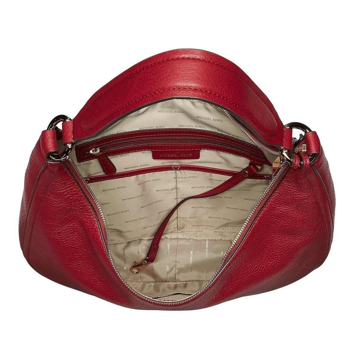 96d0b7dbce57 Shop Michael Kors Lydia Large Mulberry Hobo Handbag - Free Shipping Today -  Overstock - 20192400
