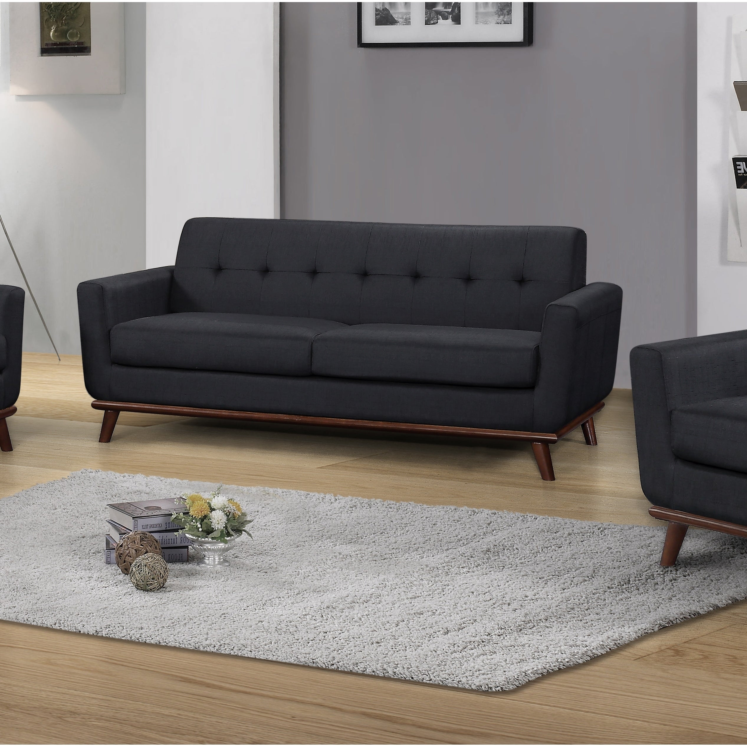 Shop Best Master Furniture C106 Upholstered Sofa U0026 Love Seat   Free  Shipping Today   Overstock.com   20192520