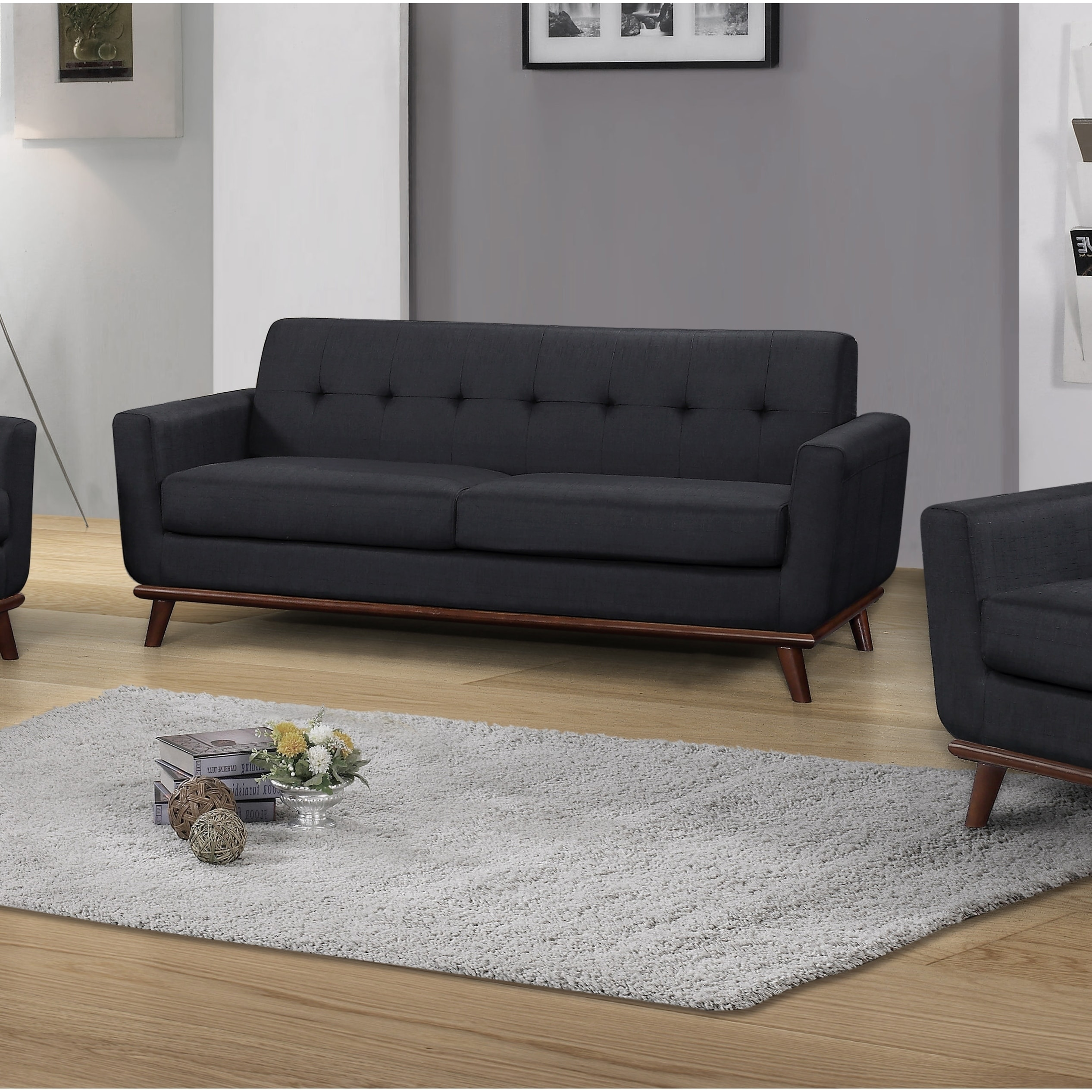 Best Master Furniture C106 Upholstered Sofa Free Shipping Today 20192523