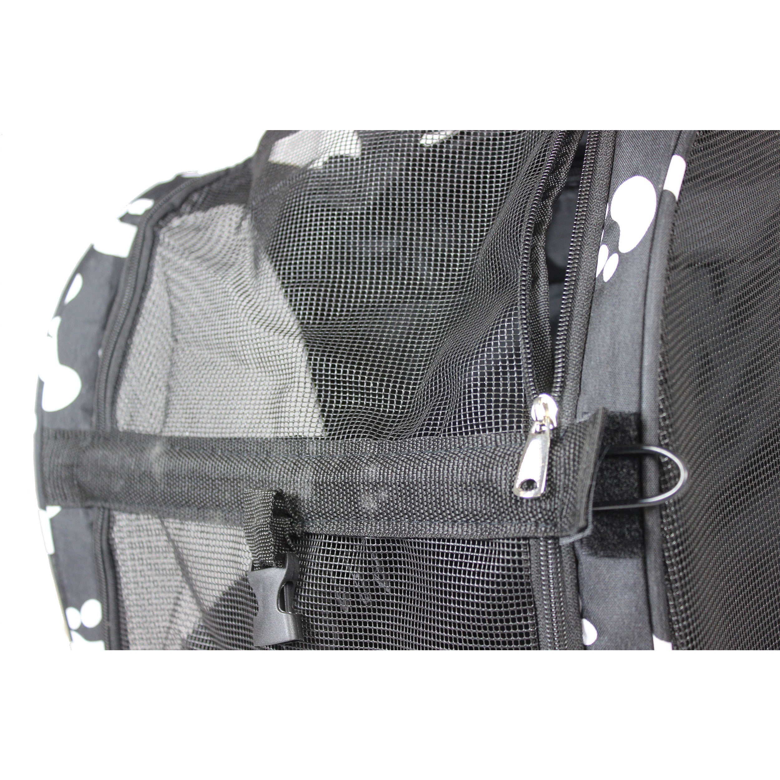 b35a402eb4b Shop World Traveler Black 20-Inch Rolling Small Pet Carrier Backpack Carry-On  Convertible - Free Shipping Today - Overstock - 20193986