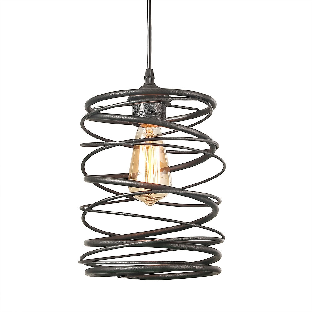 Lnc 1 light contemporary ceiling light spiral pendant lighting lnc 1 light contemporary ceiling light spiral pendant lighting free shipping today overstock 26105276 aloadofball Choice Image