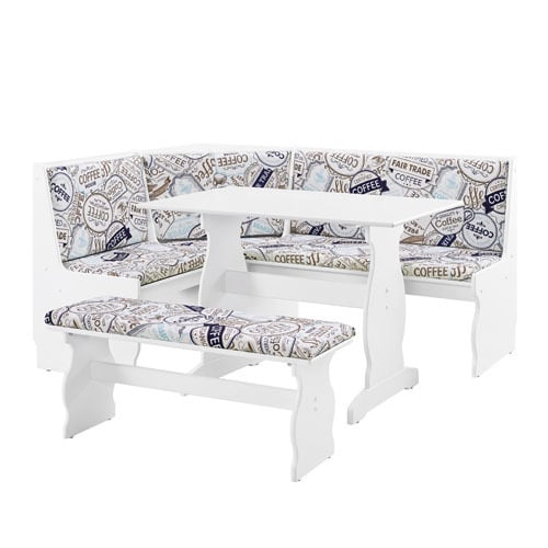 Shop Hannah 3 Piece Nook Dining Set   Free Shipping Today   Overstock.com    20218549