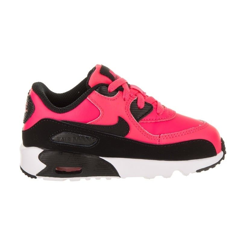 e133bc97feb Shop Nike Toddlers Air Max 90 LTR (TD) Running Shoe - Free Shipping Today -  Overstock.com - 20220143