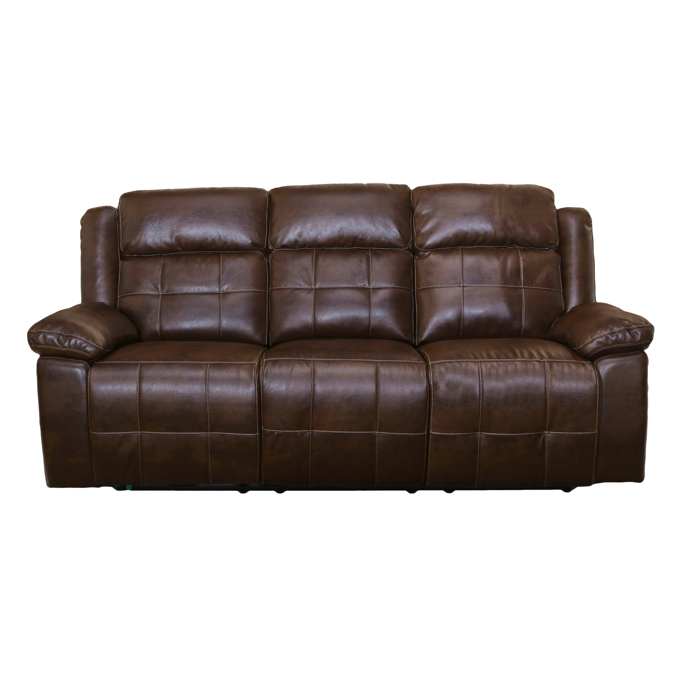 Clayton Picasso Penny Full Power Recliner Sofa With Headrest   Free  Shipping Today   Overstock.com   26109474