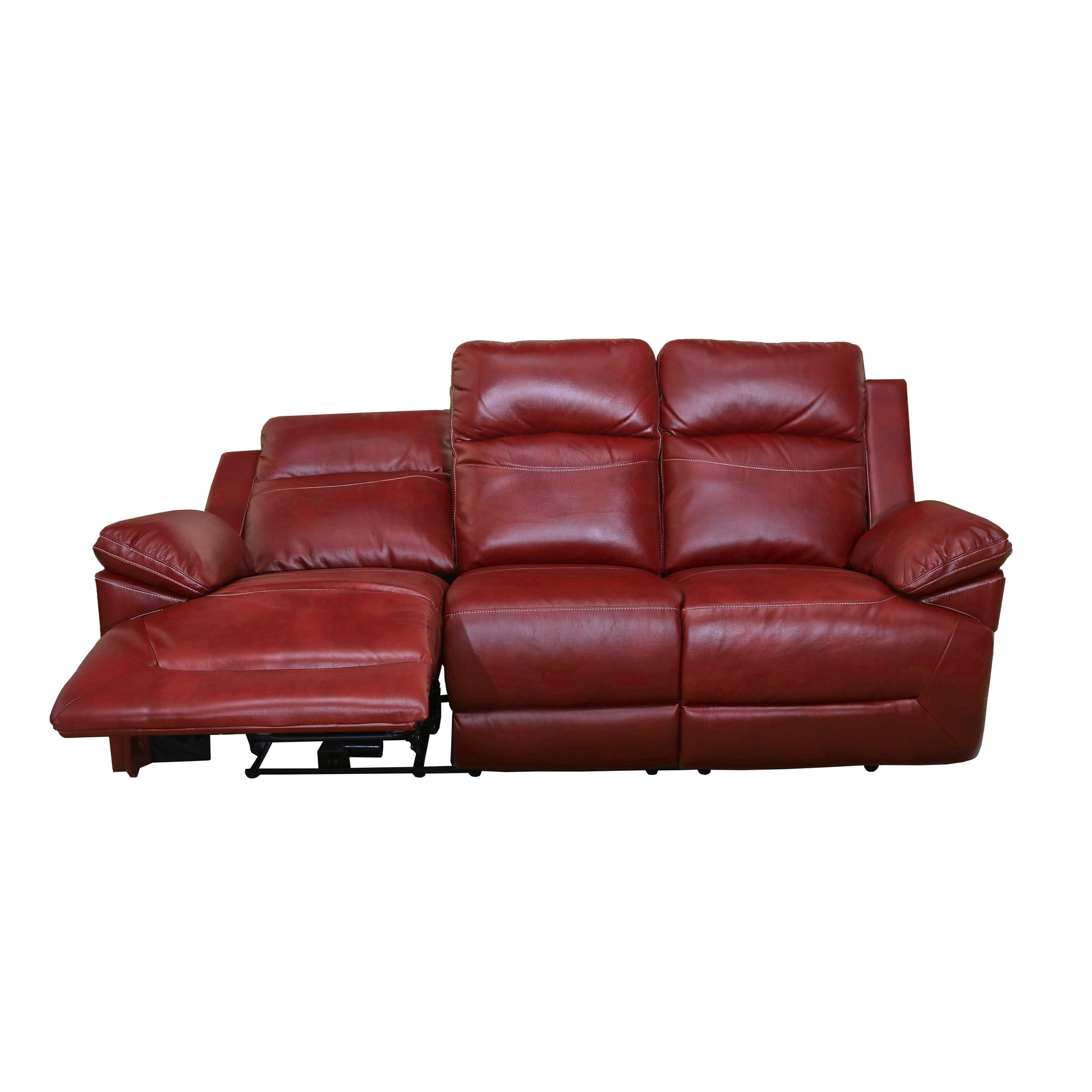 Shop Cortez Red Dual Reclining Sofa - Free Shipping Today ...