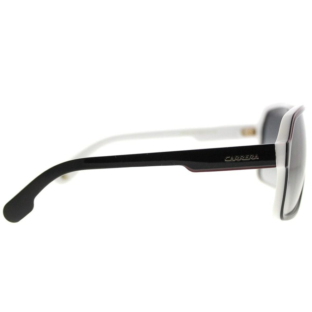 3488d7c8741 Shop Carrera Aviator Carrera 1001 S 80S 9O Unisex Black White Frame Grey  Gradient Lens Sunglasses - Free Shipping Today - Overstock - 20223894
