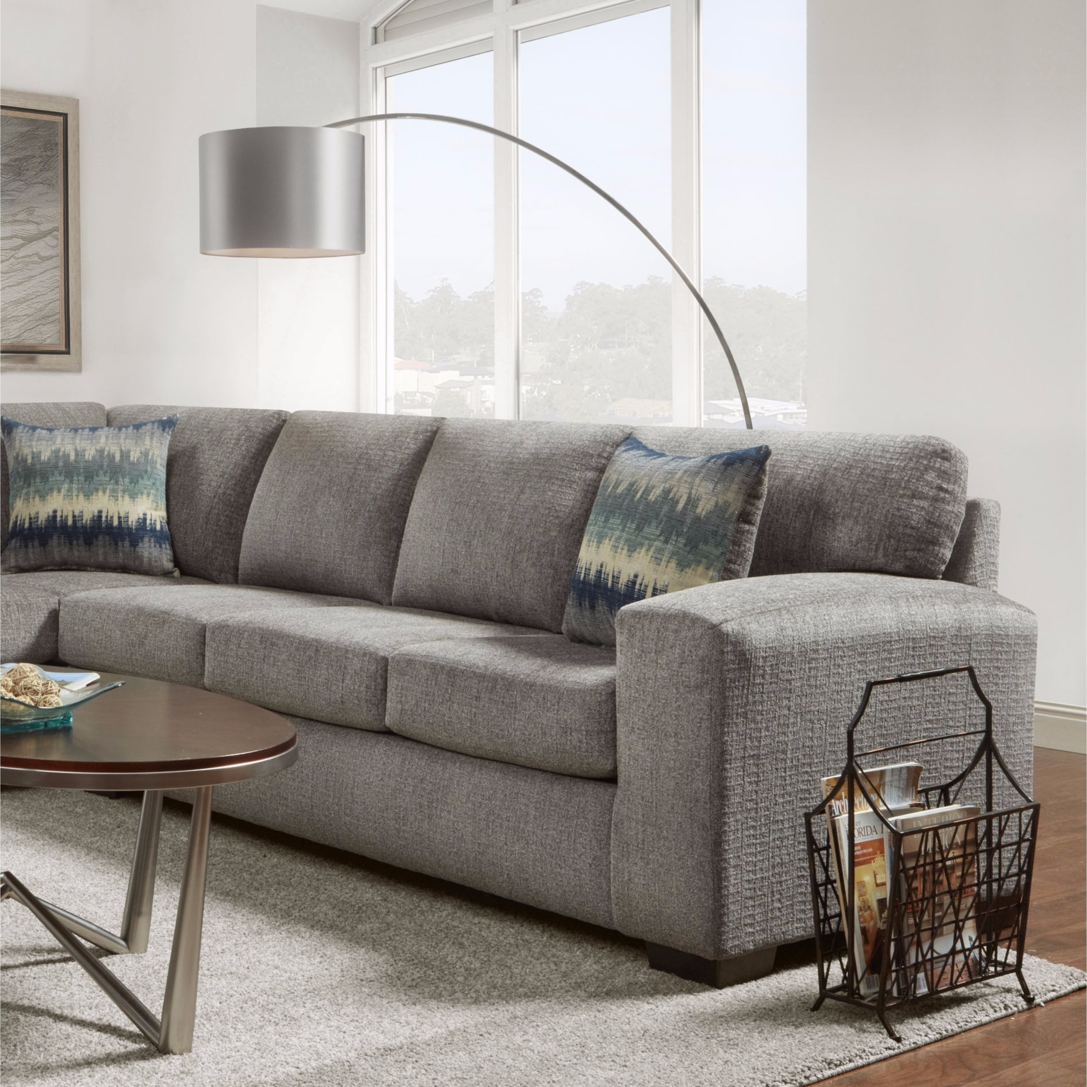 item lsg sectional maier wayside collections piece sofas sofa sienna furniture left benchcraft and chaise w sleeper fabric