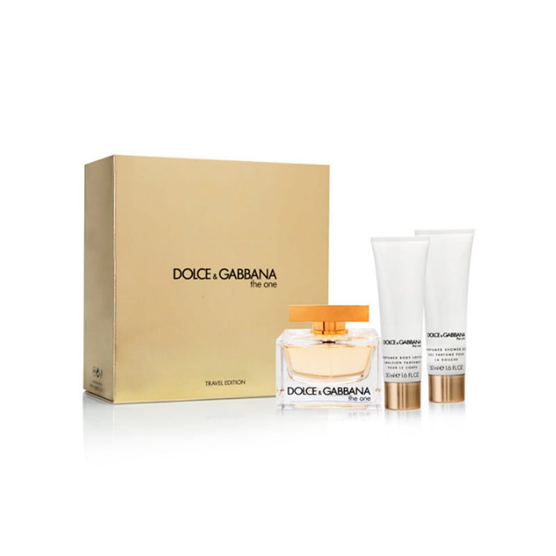 90089f8c Shop Dolce & Gabbana The One Women's 3-piece Gift Set - Free Shipping Today  - Overstock - 20245896