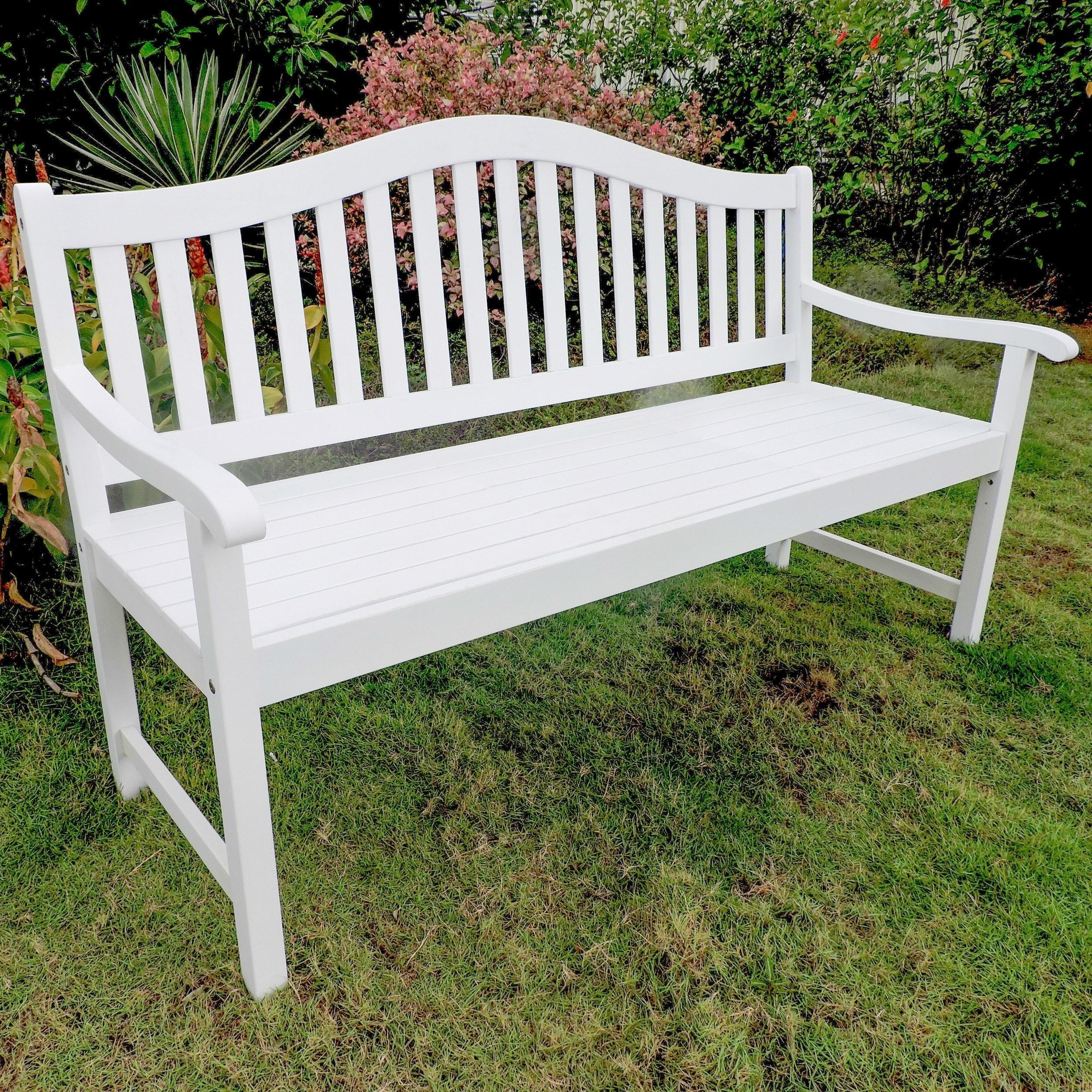 Shop International Caravan Royal Fiji 5 Foot Garden Bench Free Shipping Today Overstock Com 20245923