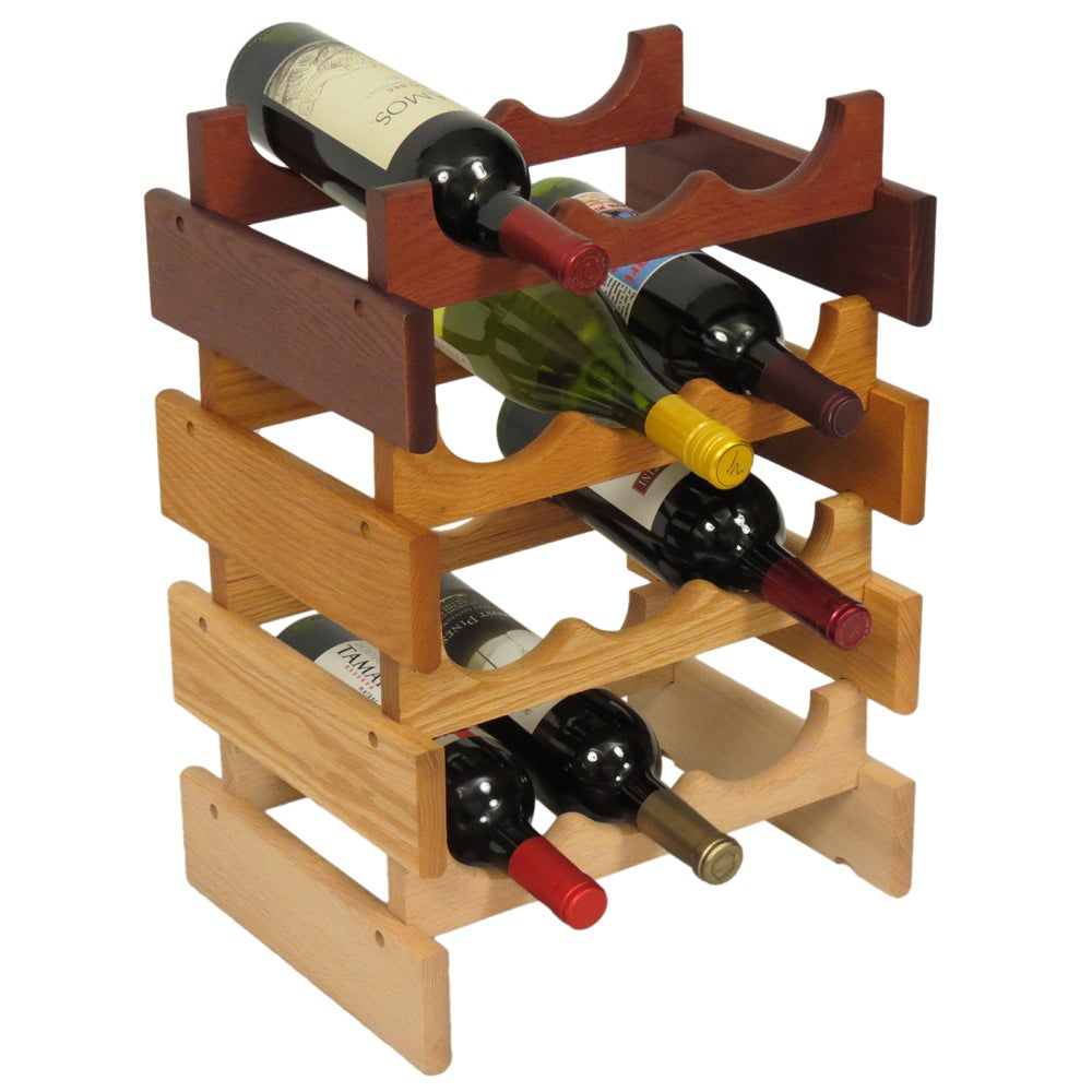 Shop Copper Grove Arapaho Stackable 6 Bottle Wood Wine Rack Free