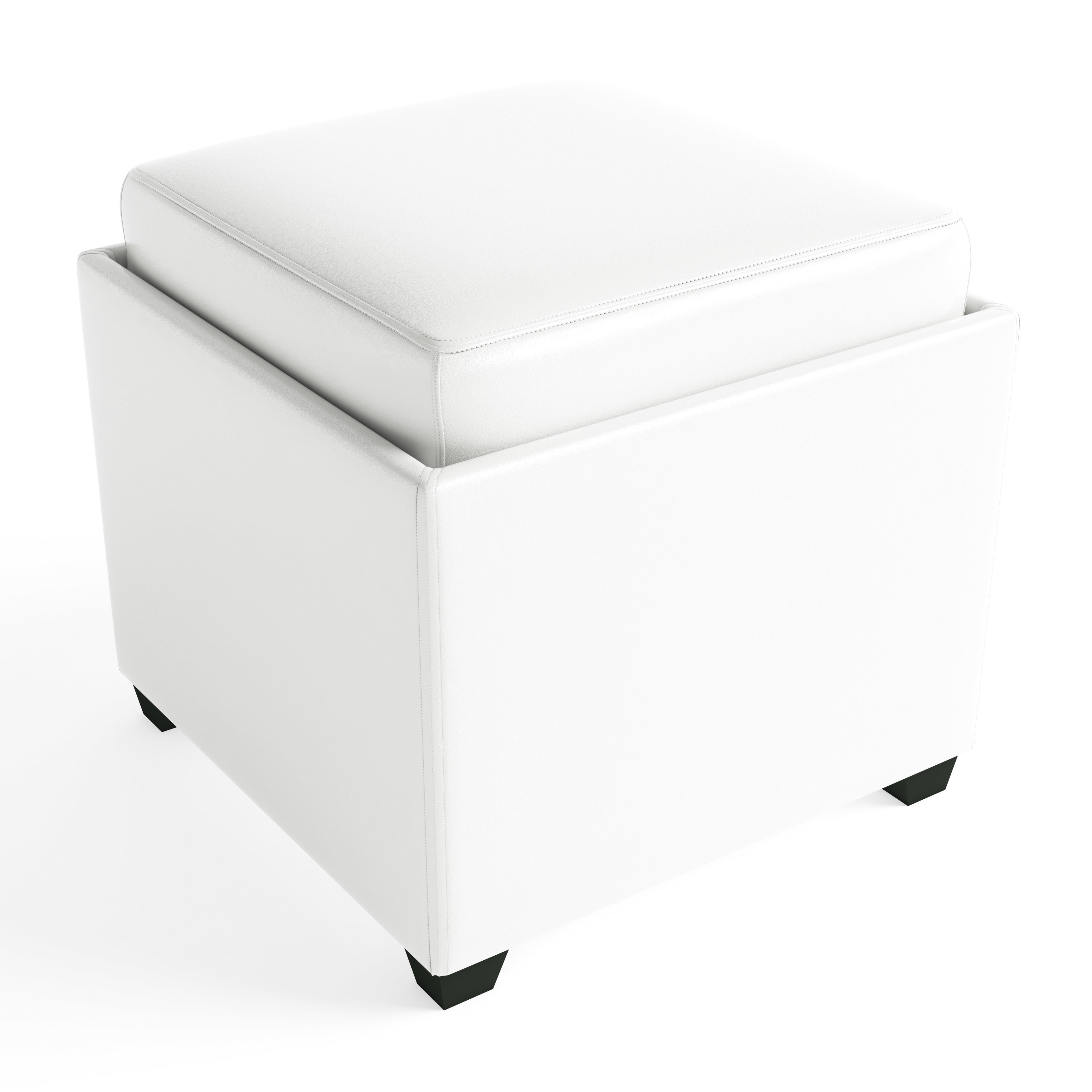 Attirant Shop Clay Alder Home Easley Contemporary Storage Ottoman With Tray   On  Sale   Free Shipping Today   Overstock.com   20254715