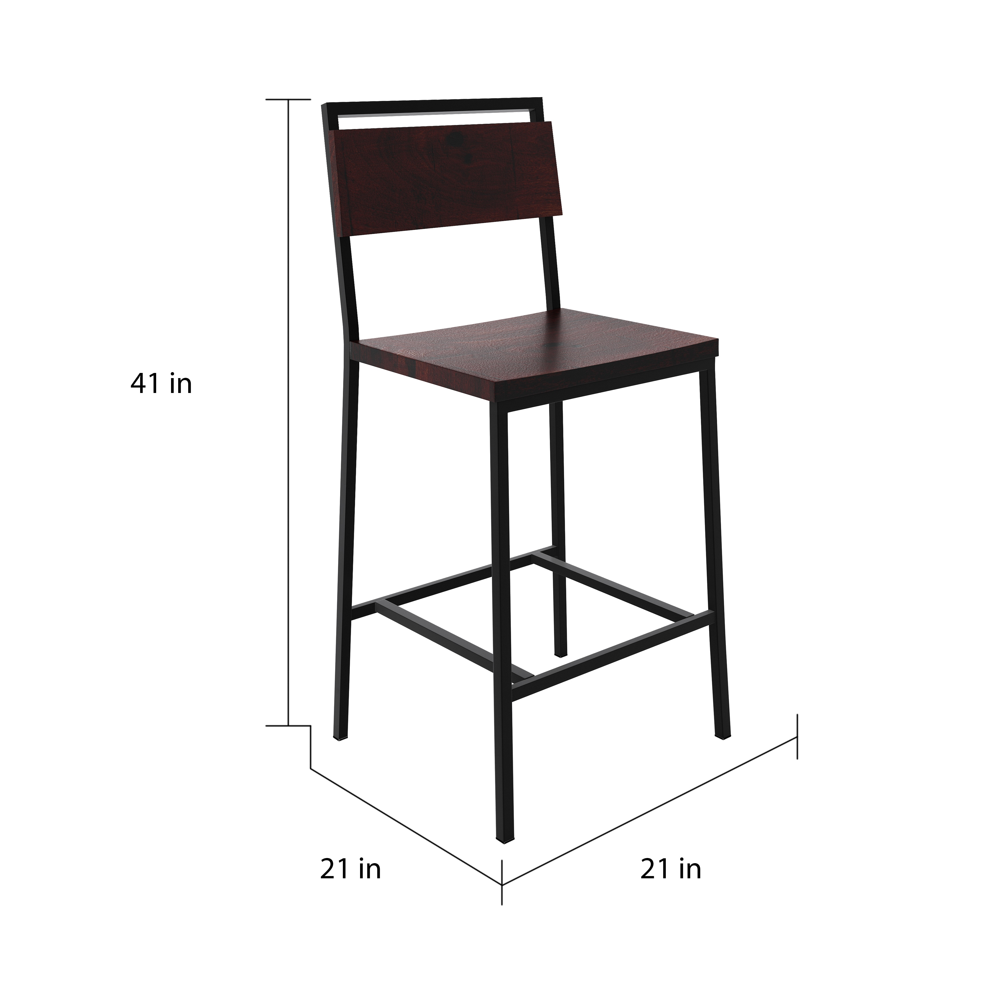Shop Carbon Loft Rufus 26 And 30 Inch Barstool Free Shipping Today