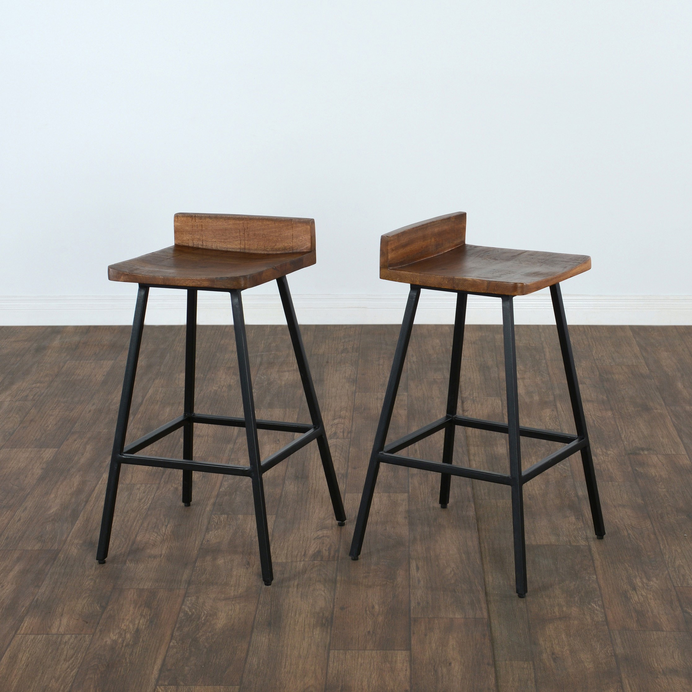 Shop Carbon Loft Farrimond Wood 27 Inch Counter Stool Free