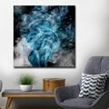 Porch & Den Tristan Scott 'Glitzy Mist XIV' Canvas Art