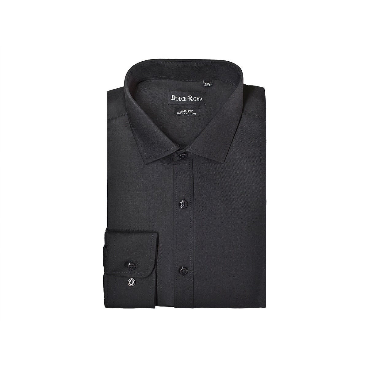 b4c2e4dd3 Shop Dolce Roma %100 Cotton Men's Dress Dress Shirt - Free Shipping On  Orders Over $45 - Overstock - 20271315