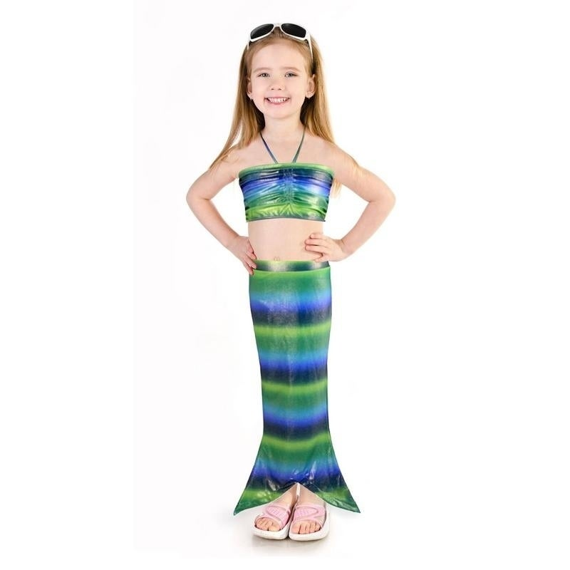 Shop Girls  Mermaid Swimsuit - On Sale - Free Shipping On Orders Over  45 -  Overstock - 20302931 97f9ba5fbb48