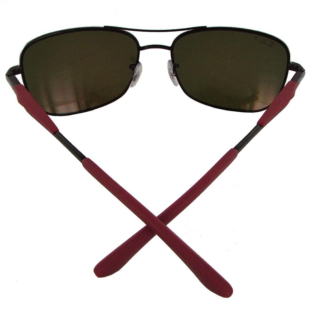 3b139d76fd2e Shop Ray Ban RB3515 Mens Black Frame Orange Flash Lens Polarized Square  Sunglasses - Free Shipping Today - Overstock - 20303050