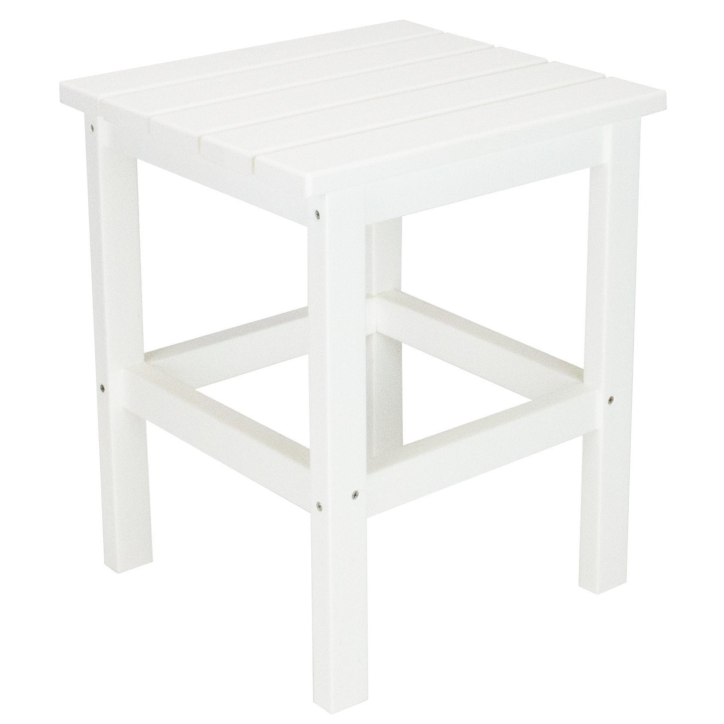 Wyndtree All Weather Recycled Plastic Side Table Made In Usa 15 X 18 On Free Shipping Today 20303795