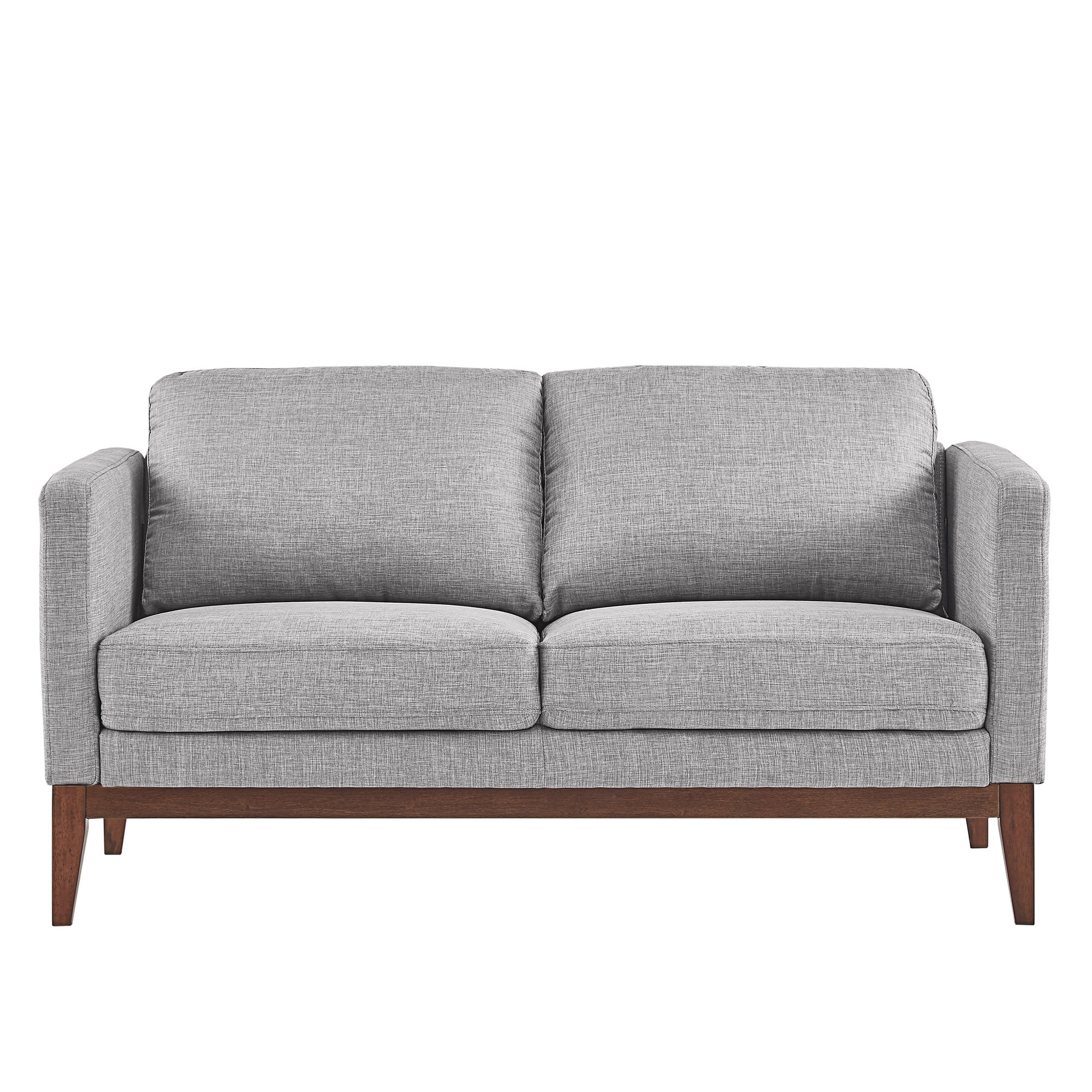 Perry Linen Upholstered Sofa And Loveseat By Inspire Q Modern Free Shipping Today 20304100