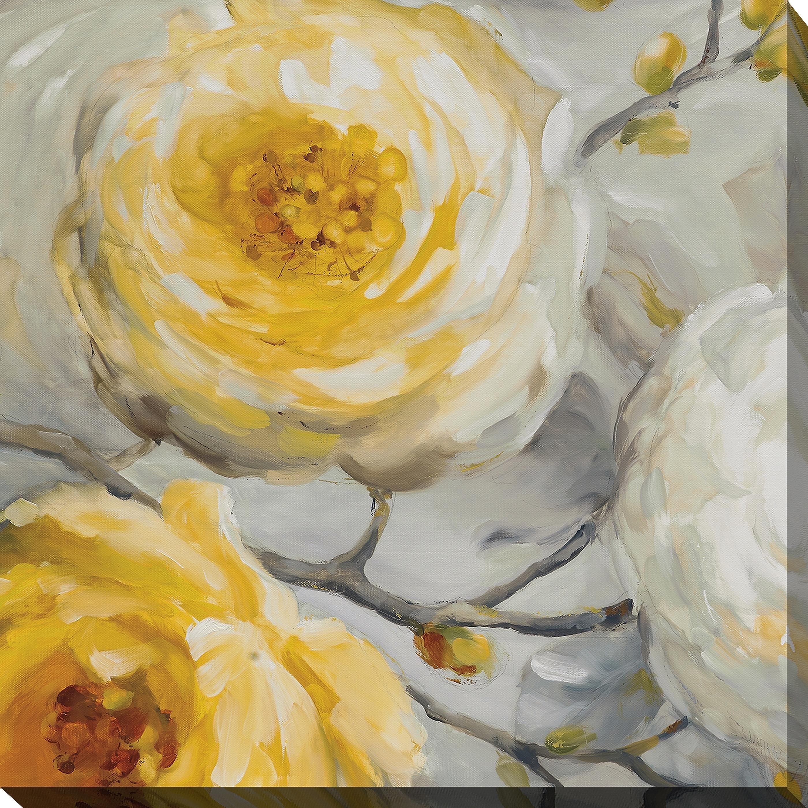 Unique Floral Wall Art Canvas Motif - Wall Art Collections ...