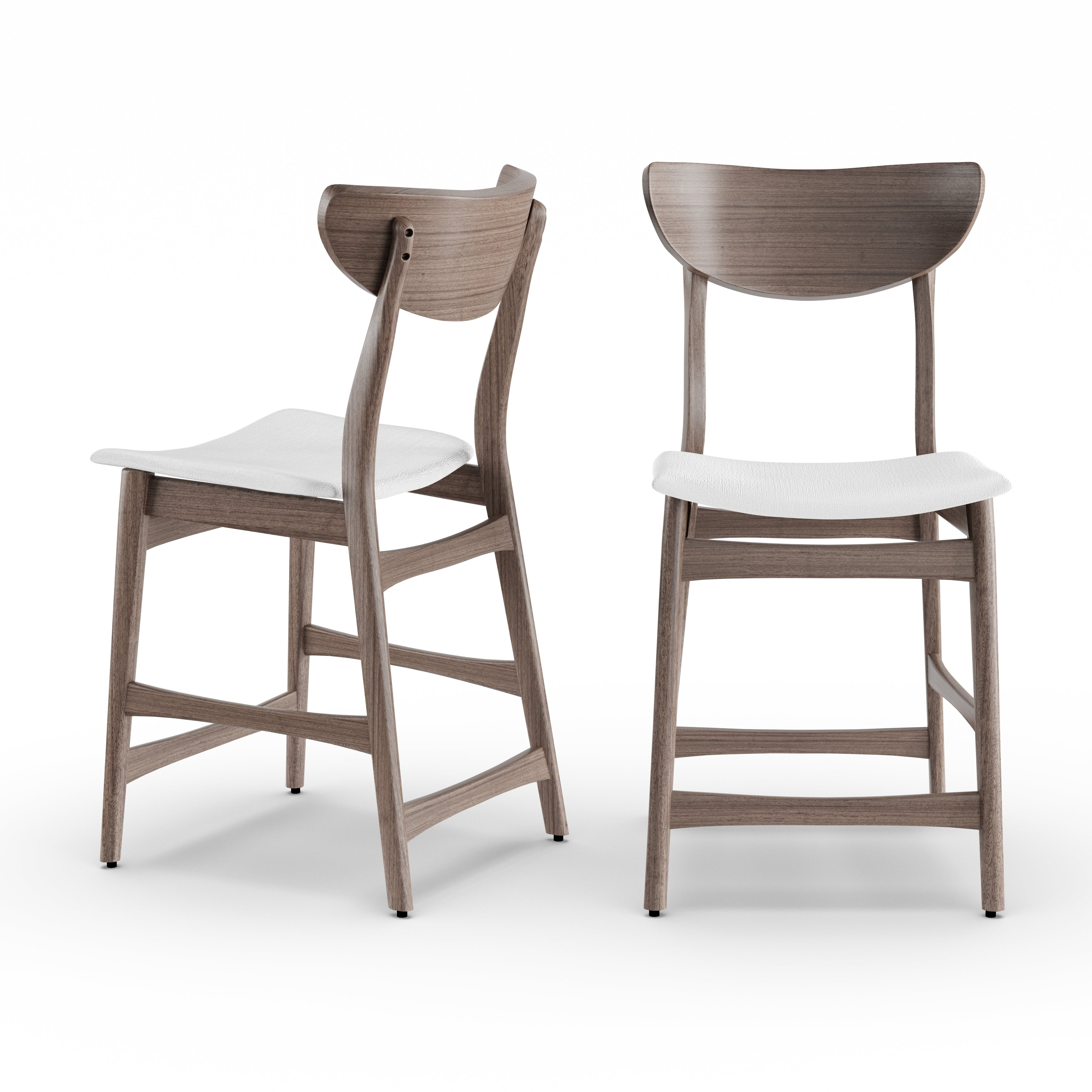 Carson Carrington Lund Wood 24 Inch Counter Stool (Set Of 2)