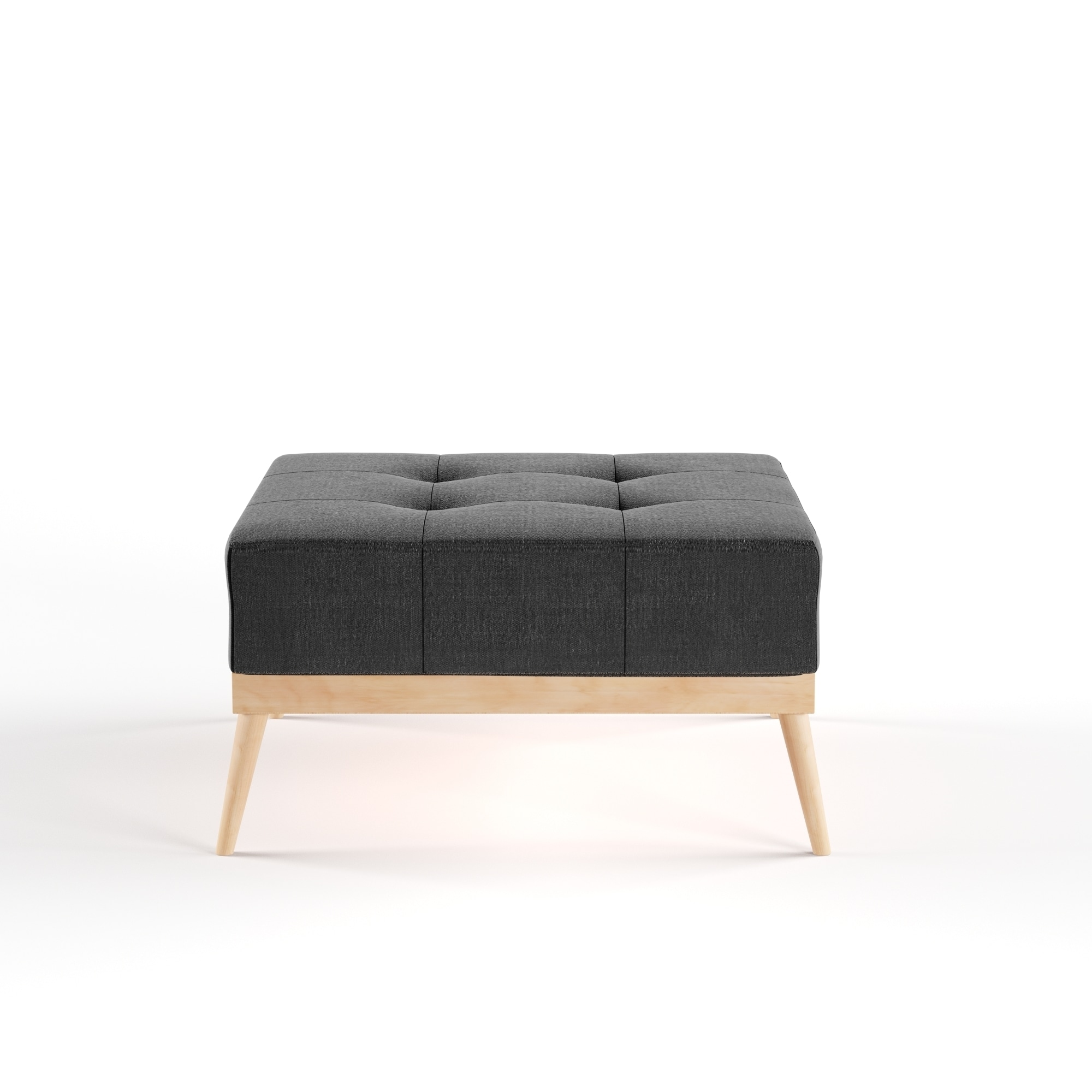 in square with tufted ottoman home ideas remodel luxury