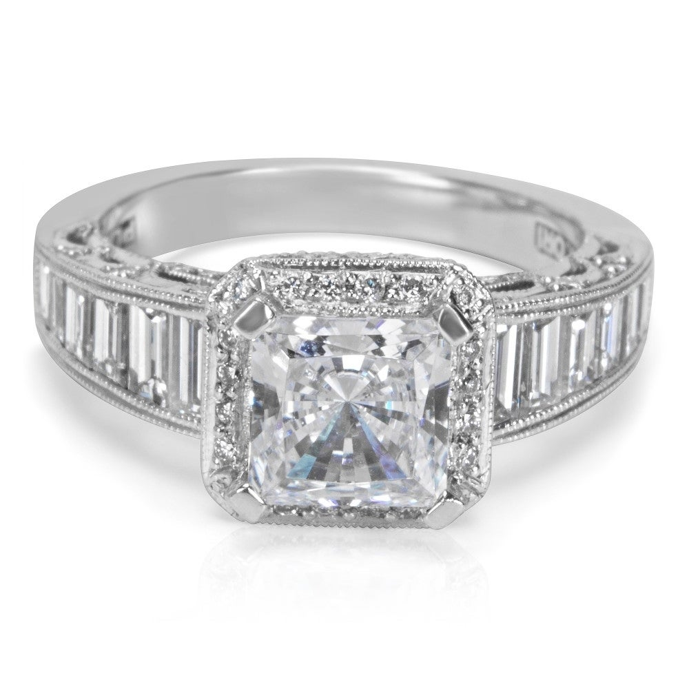 Shop Tacori Engagement Ring Setting in Platinum HT 2531 PR 1/2X (1.35 CTW)  - Free Shipping Today - Overstock.com - 20313508