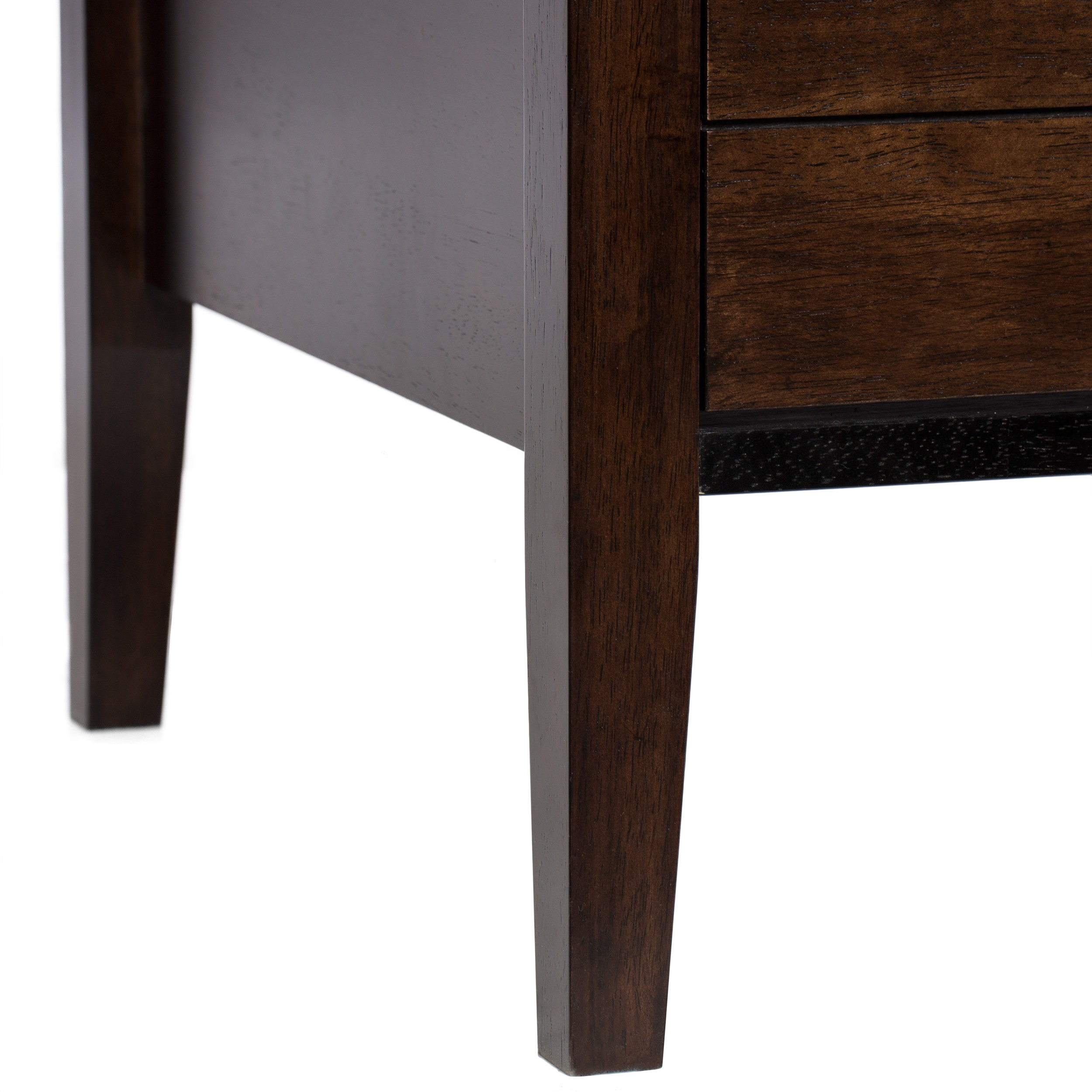 Oliver & James Brown Aristo Halifax Side Table - Free Shipping Today ...