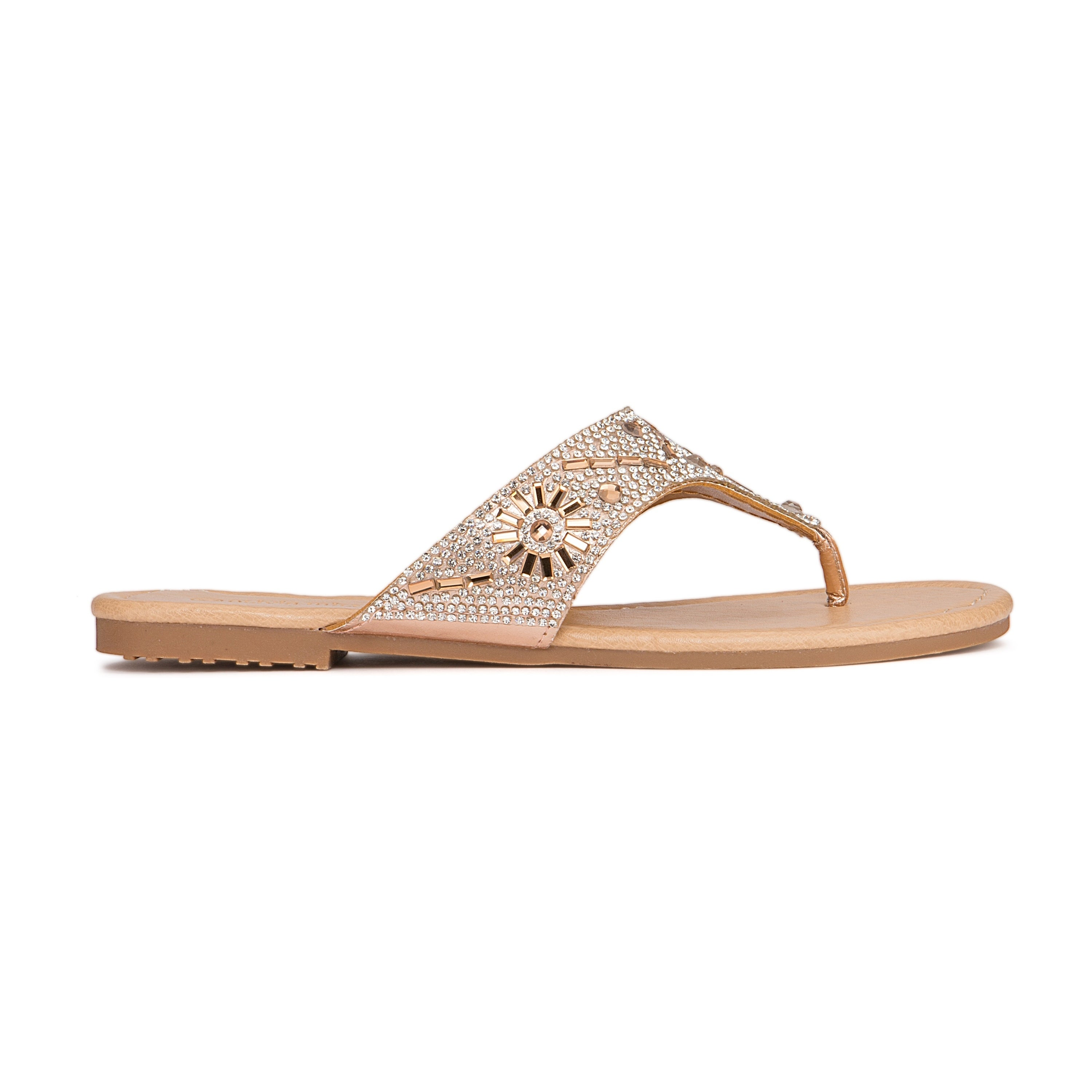 34d384cf92a1 Shop Olivia Miller  Tamarac  Multi Circle Rhinestone Sandals - On Sale -  Free Shipping On Orders Over  45 - Overstock - 20338666